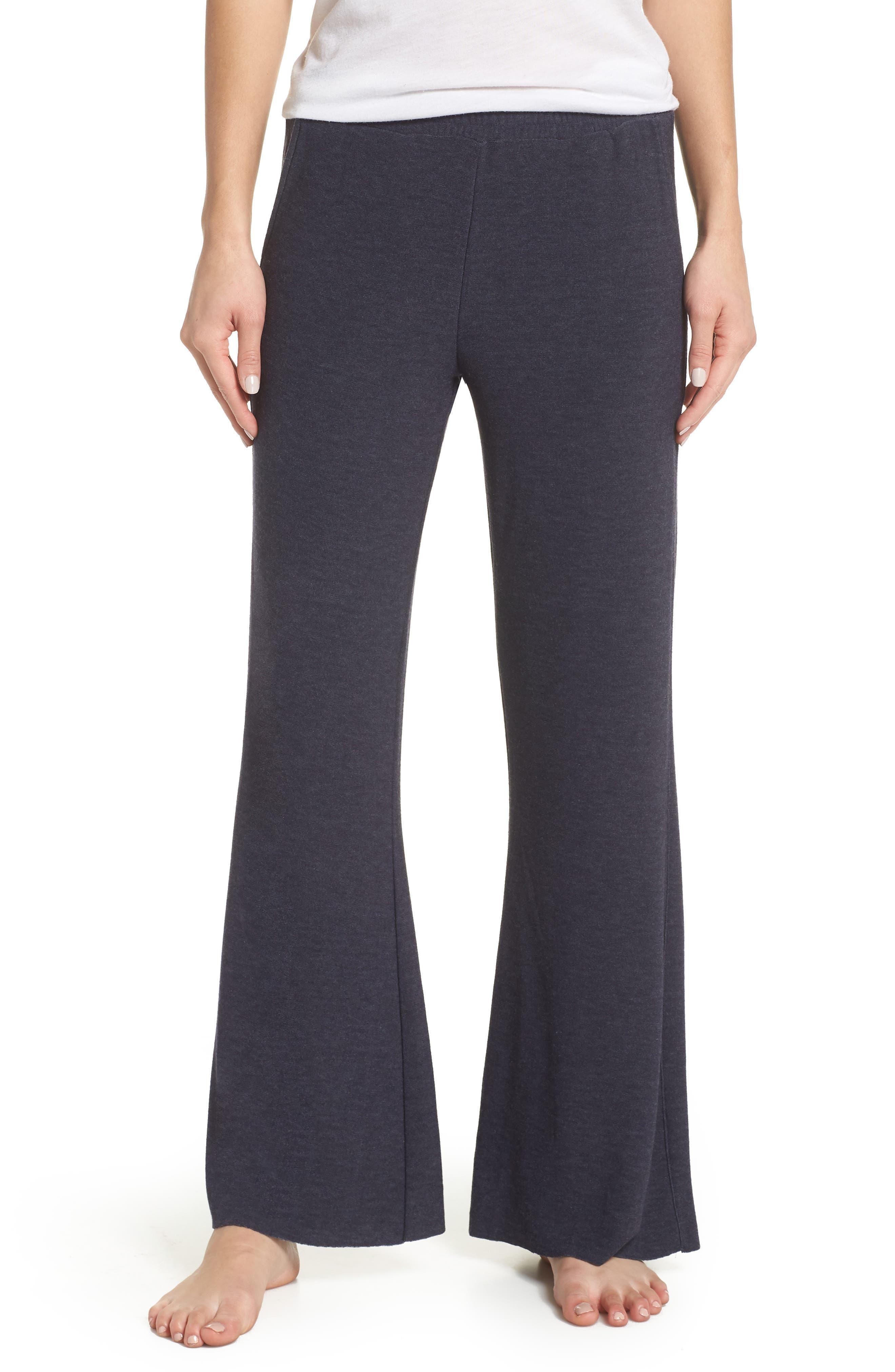 Wide Leg Lounge Pants,                         Main,                         color, CANOPY