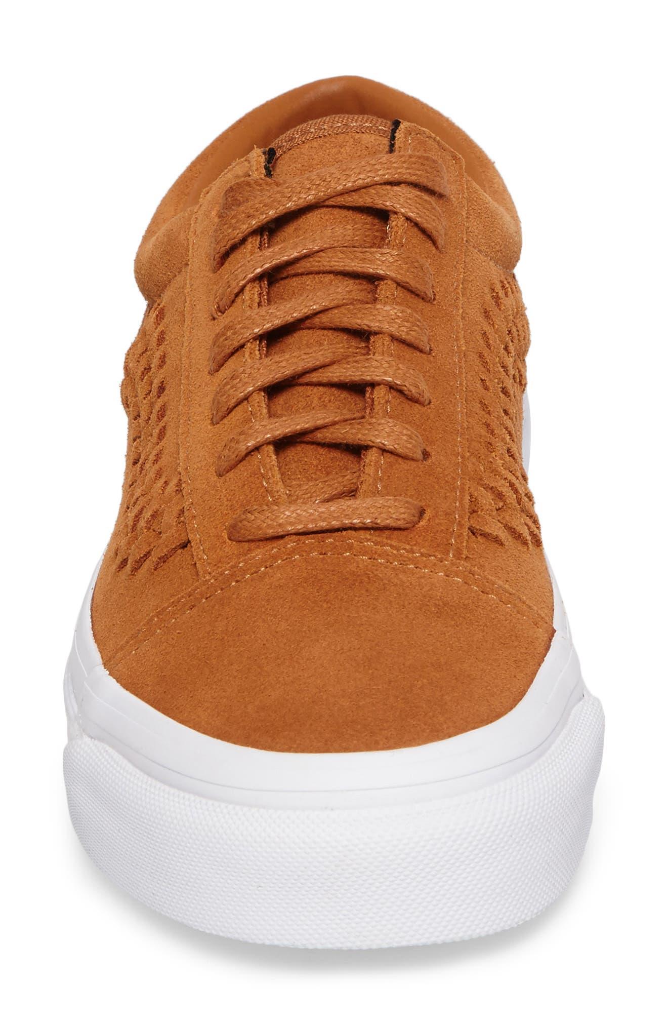 Old Skool Weave DX Sneaker,                             Alternate thumbnail 4, color,                             200