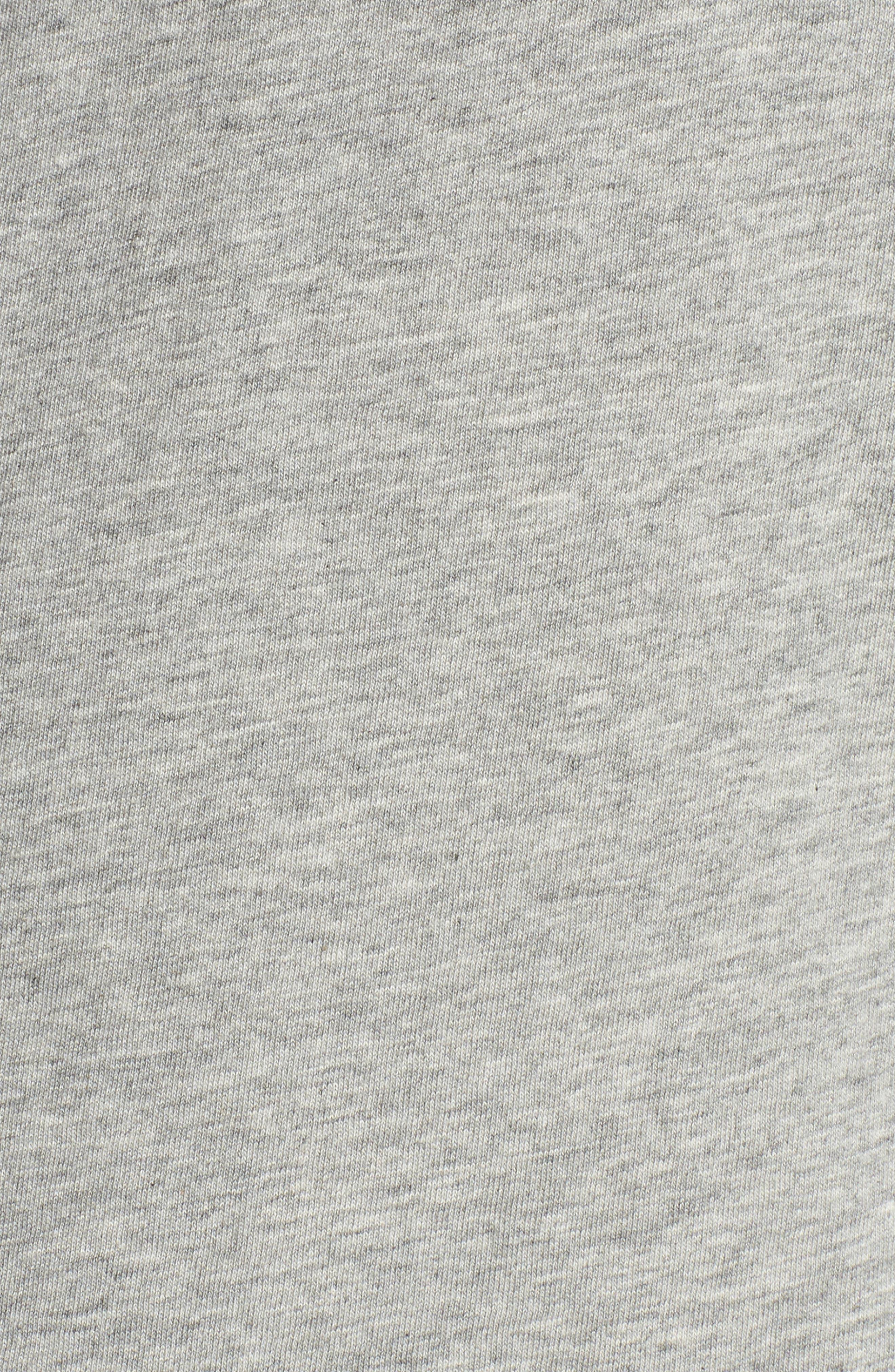 Crewneck Cotton Sweatshirt,                             Alternate thumbnail 5, color,