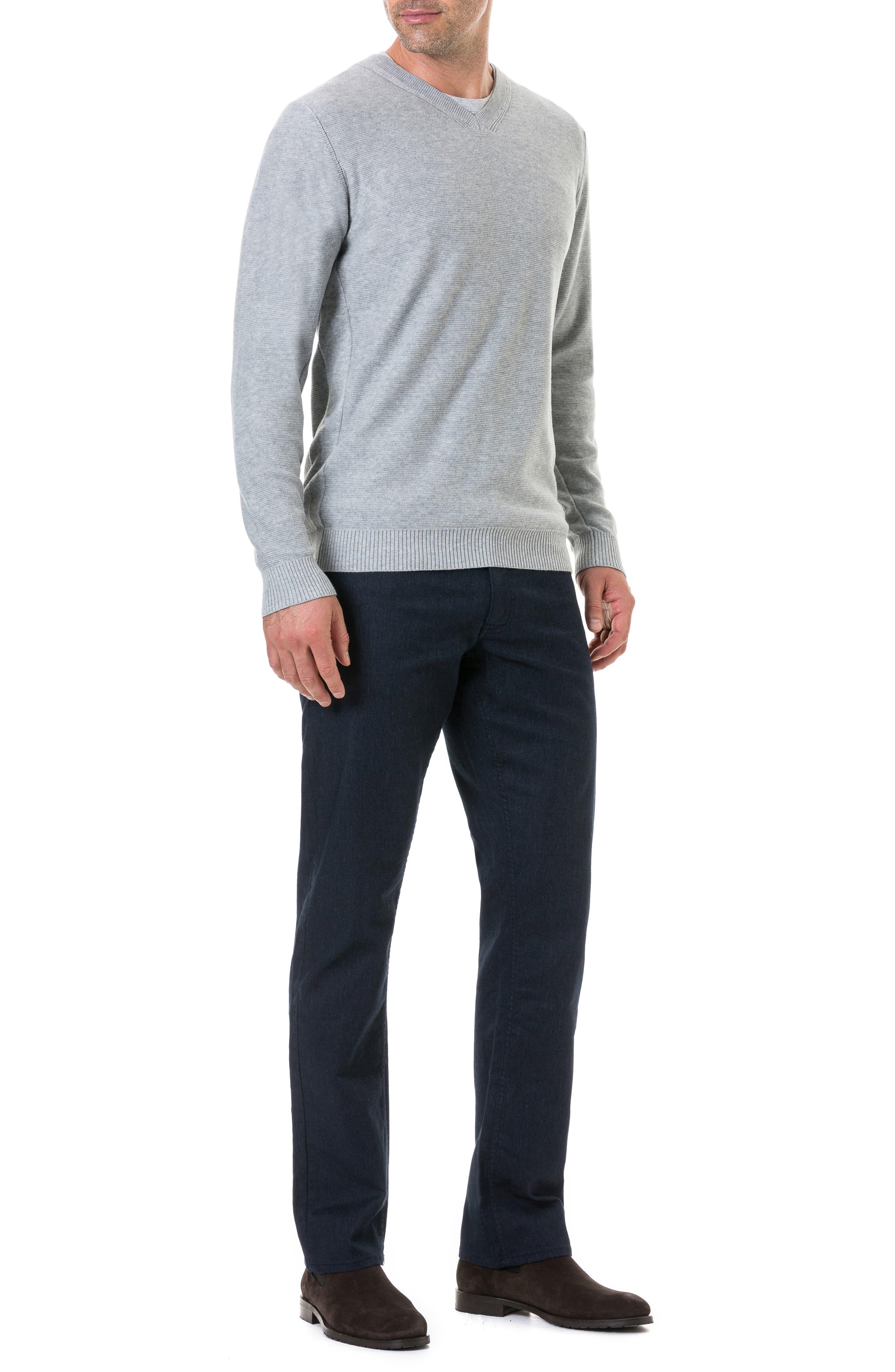 Ridgeview V-Neck Sweater,                             Alternate thumbnail 5, color,                             ASH