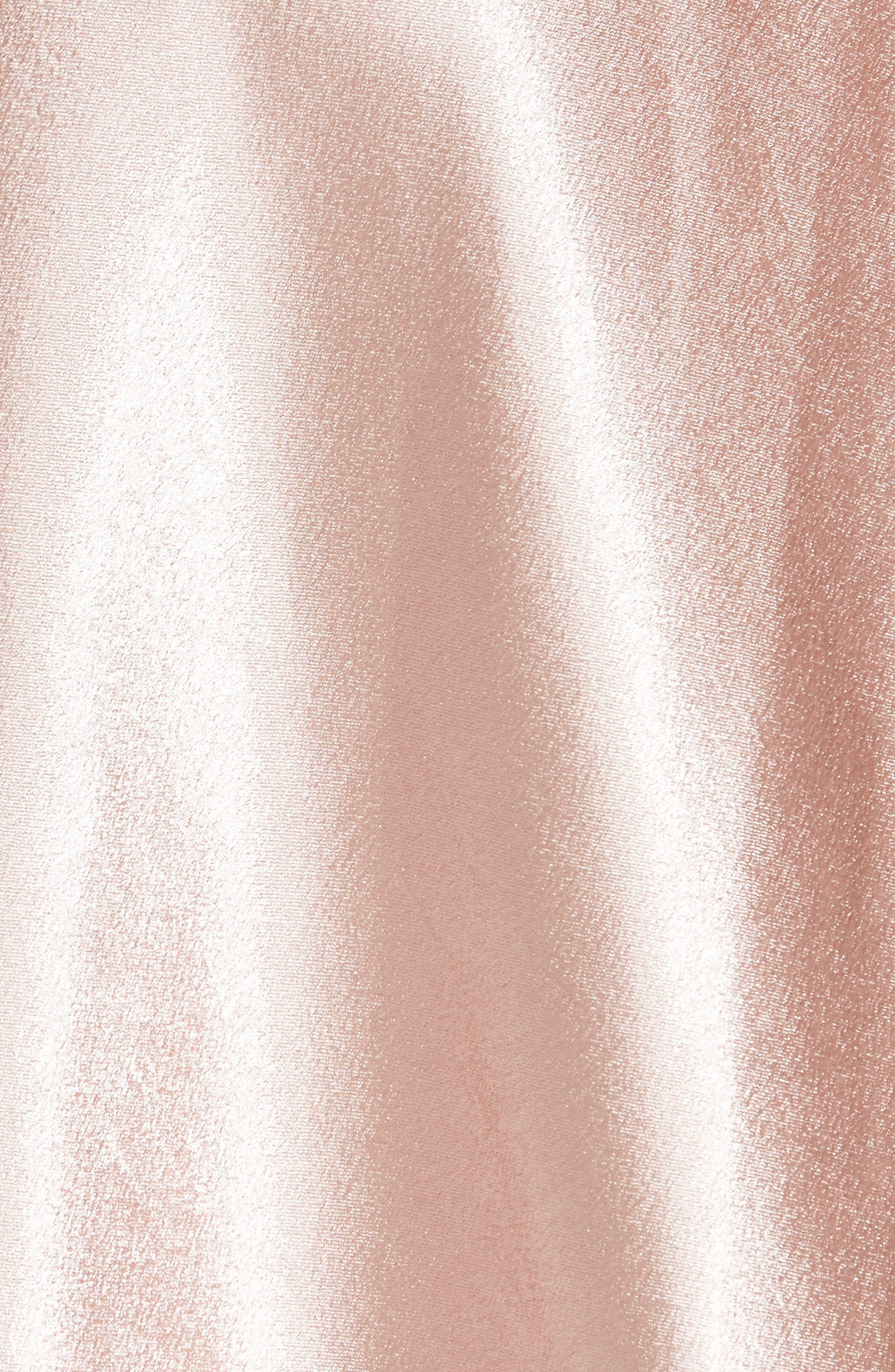 Satin Slip Skirt,                             Alternate thumbnail 5, color,                             BLUSH