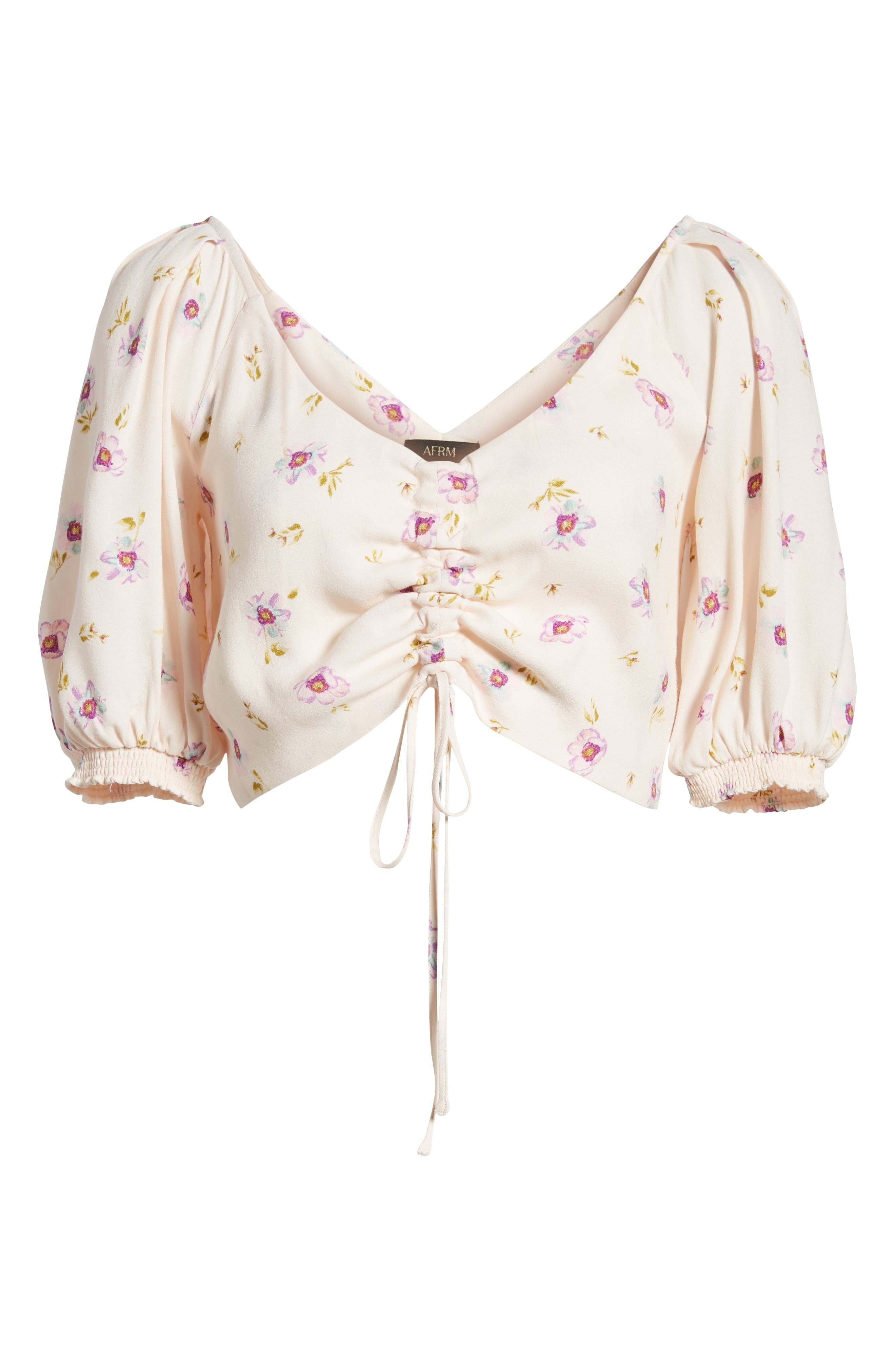 Rodeo Ruched Crop Top,                             Alternate thumbnail 6, color,                             500