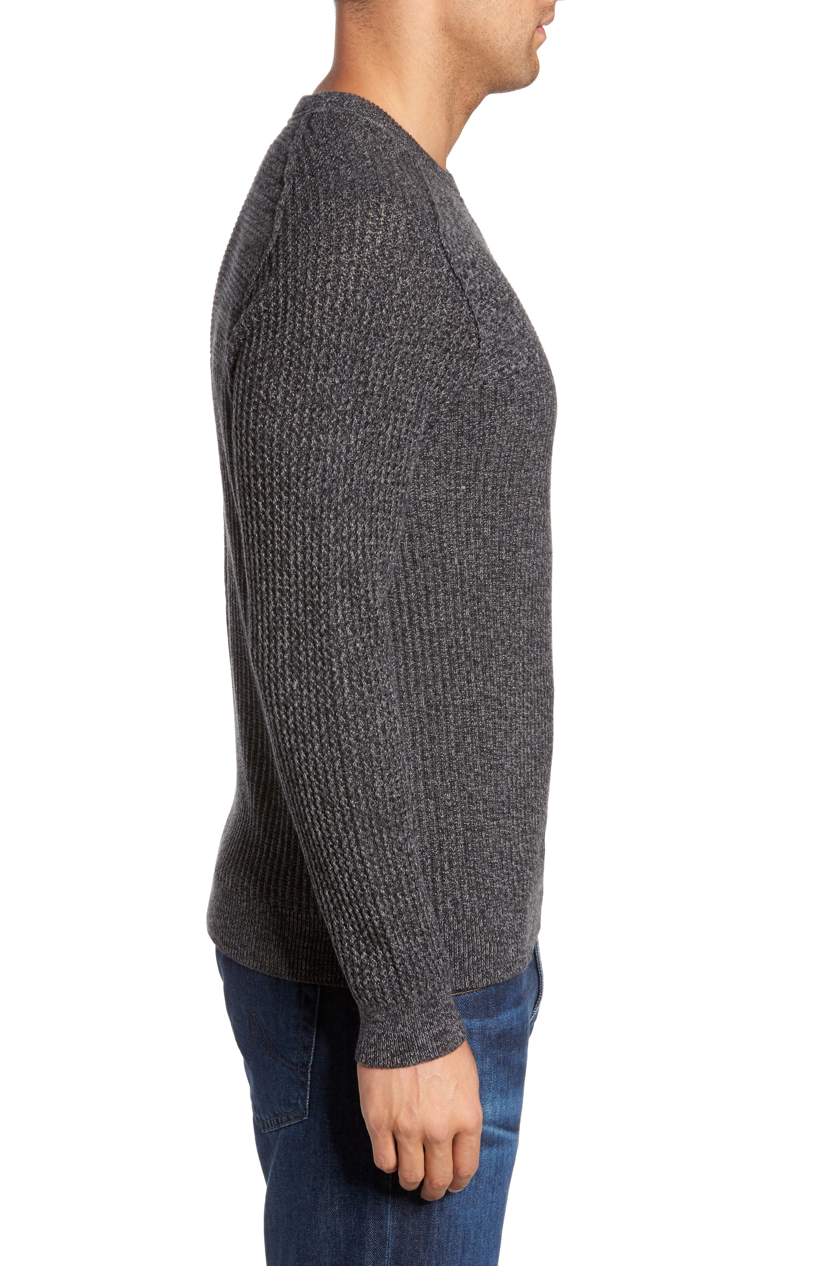 Medina Marl Cotton Sweater,                             Alternate thumbnail 6, color,