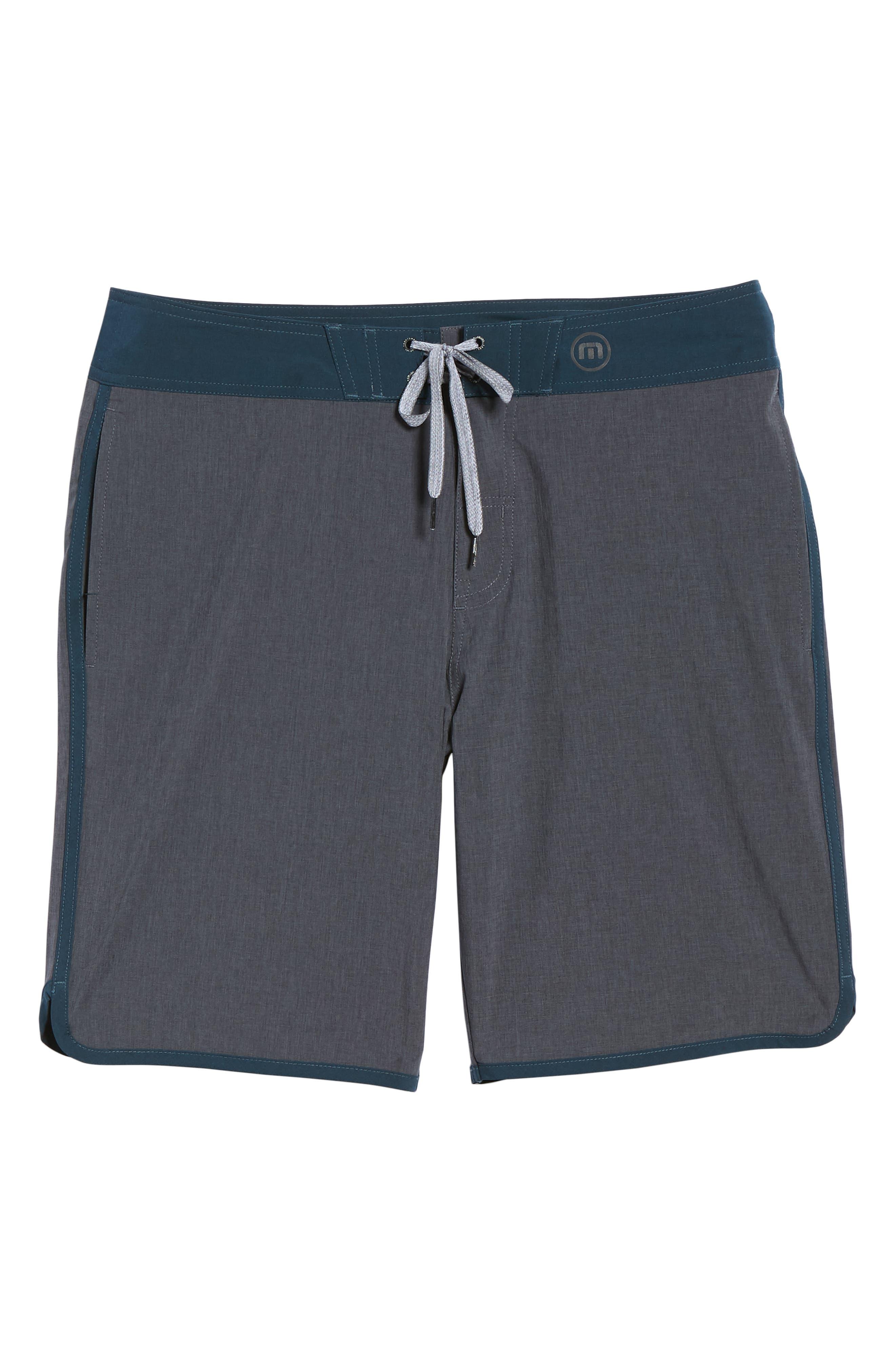 Yoni Hybrid Shorts,                             Alternate thumbnail 6, color,                             HEATHER BLACK