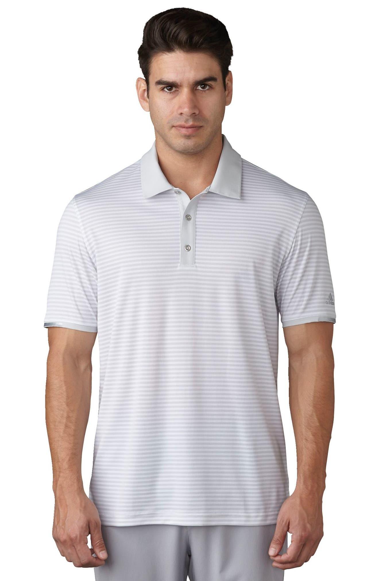 climachill<sup>®</sup> Stripe Golf Polo,                             Alternate thumbnail 5, color,                             065