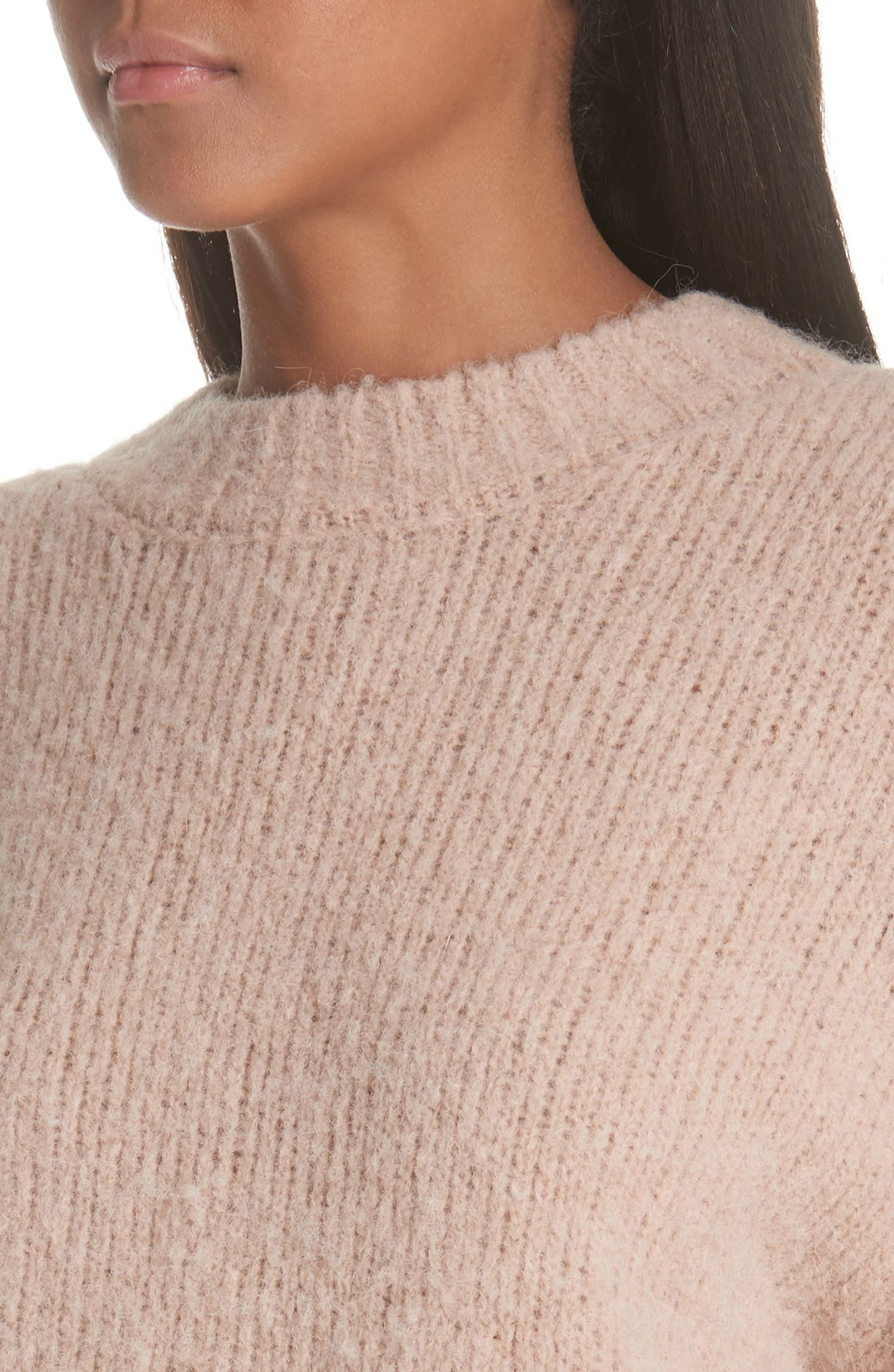 Tuesday Wool & Alpaca Blend Sweater,                             Alternate thumbnail 4, color,                             681