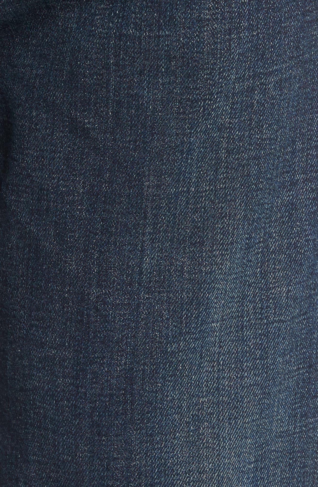 Fit 3 Slim Straight Leg Jeans,                             Alternate thumbnail 5, color,                             404