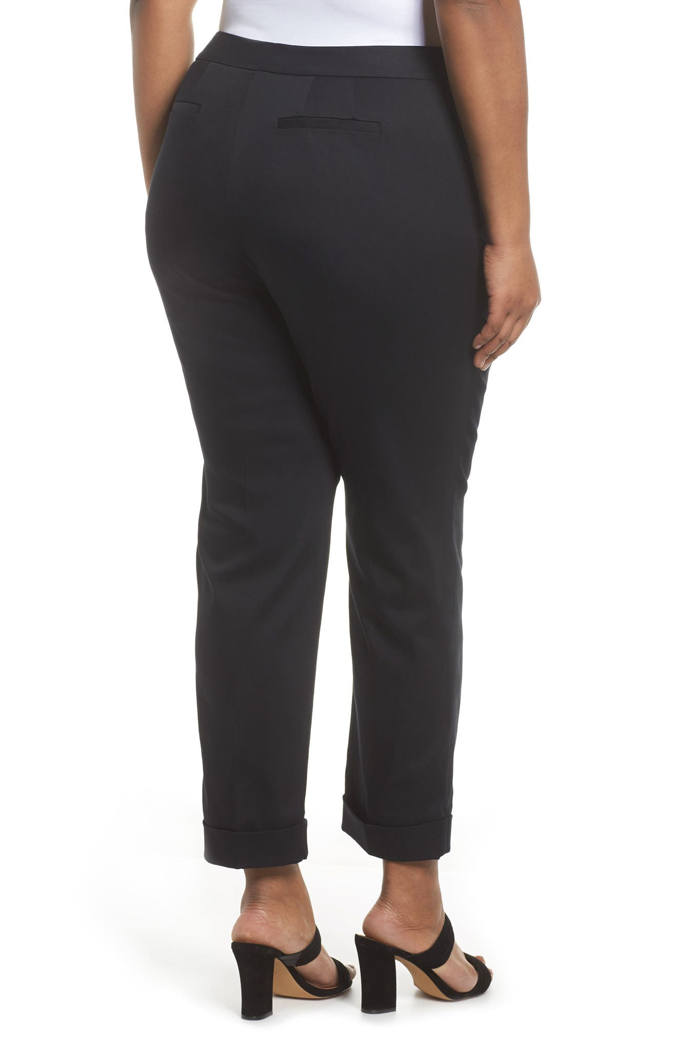 Stretch Twill Ankle Pants,                             Alternate thumbnail 5, color,