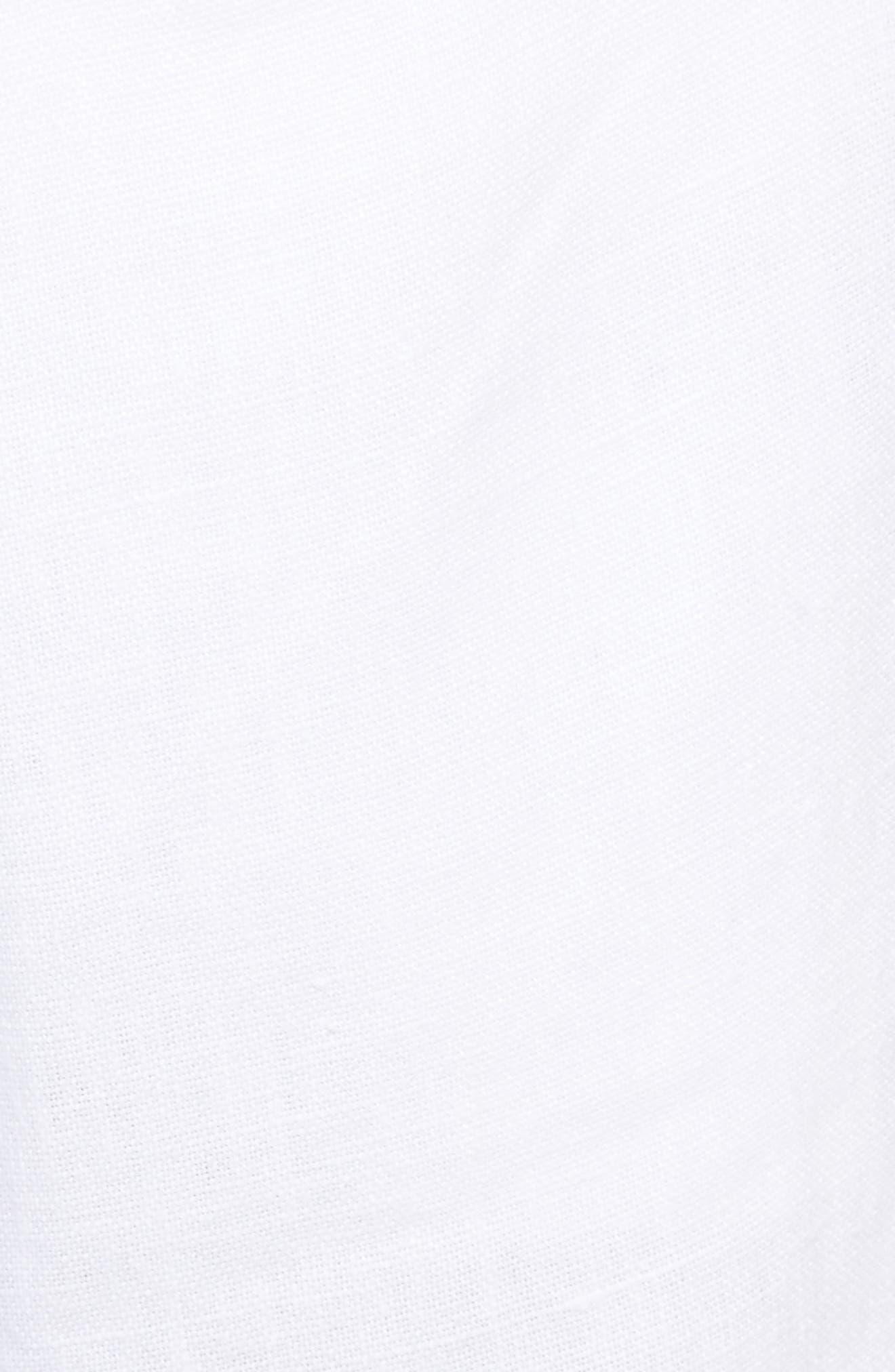 Collin Linen Pants,                             Alternate thumbnail 5, color,                             100