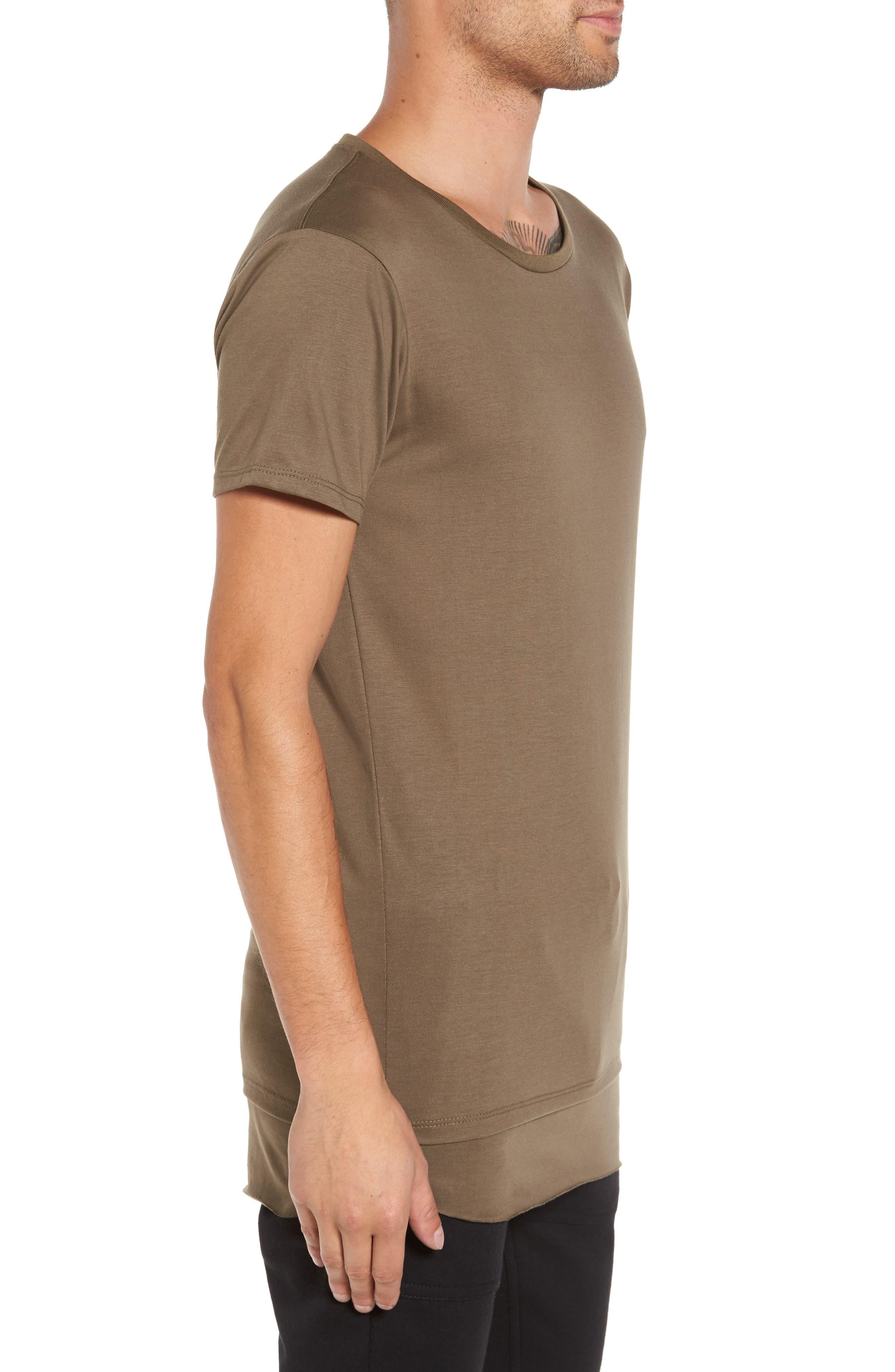 Double Layer T-Shirt,                             Alternate thumbnail 8, color,