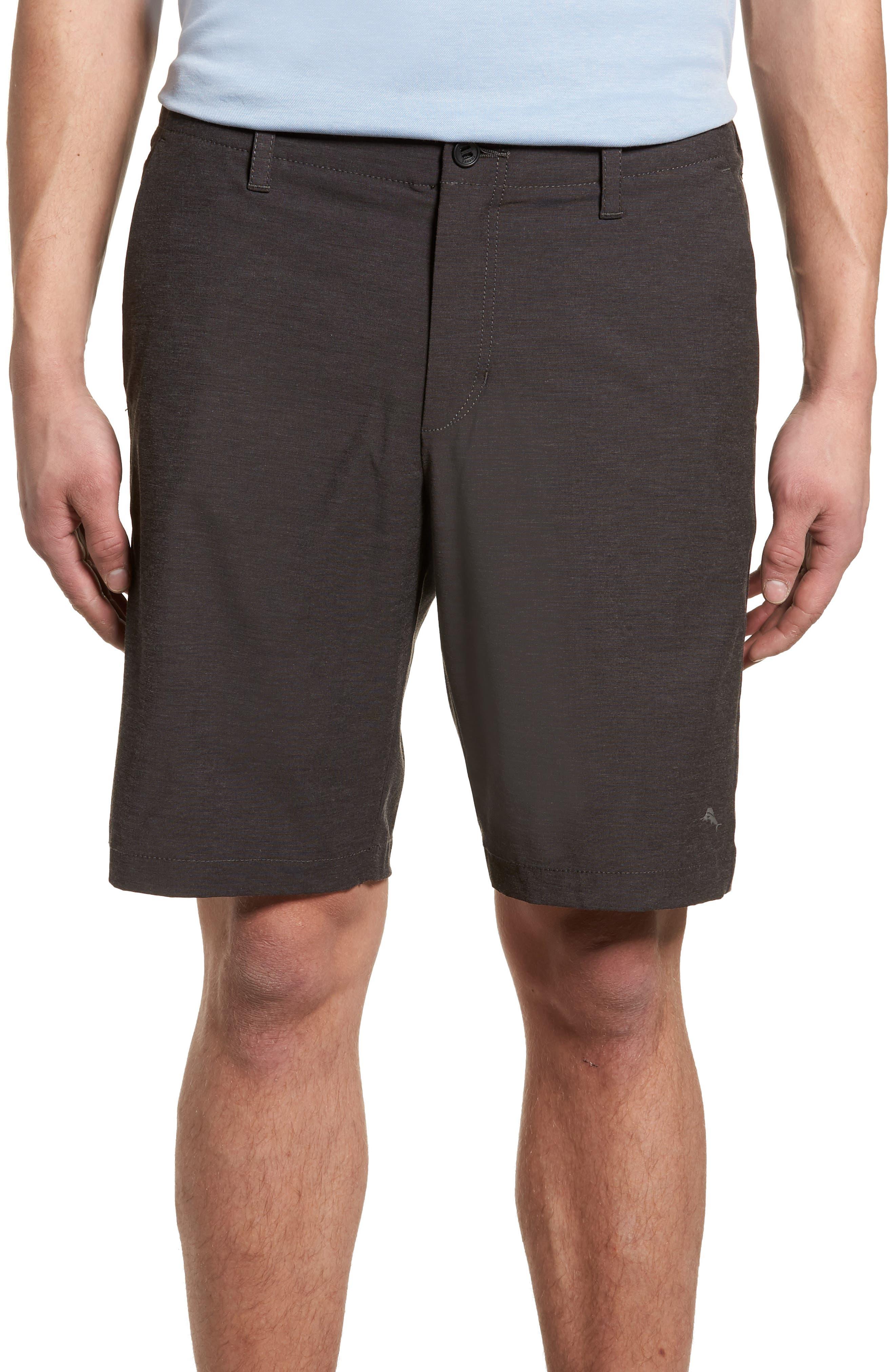 Chip & Run Shorts,                         Main,                         color, BLACK