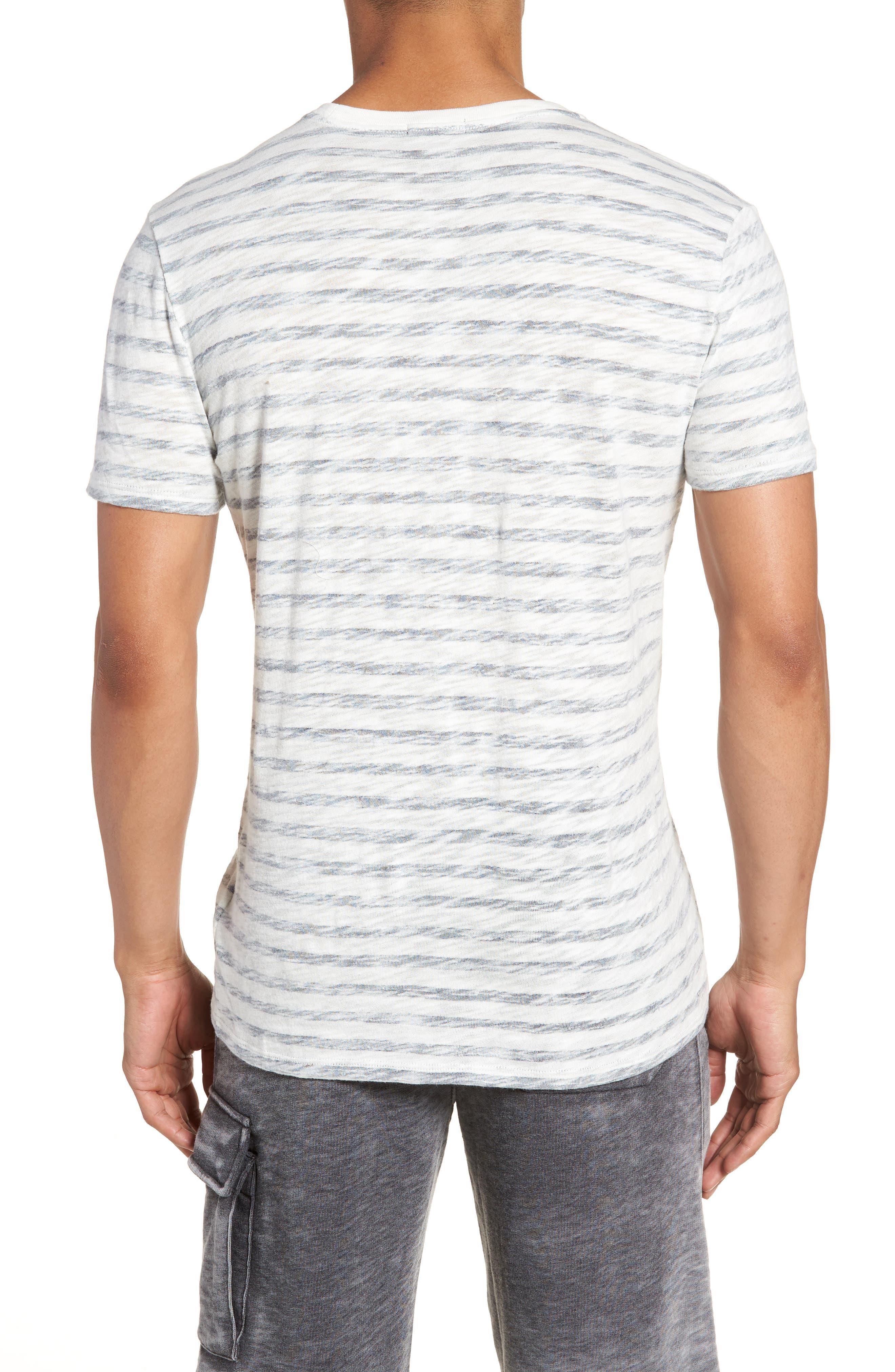 Stripe T-Shirt,                             Alternate thumbnail 2, color,                             115