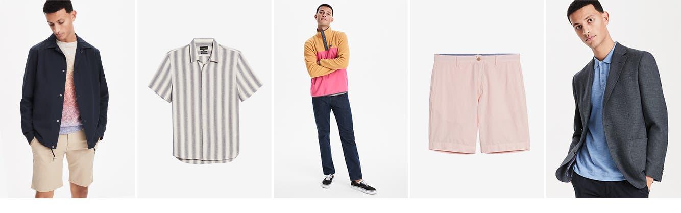 Men's clothing.