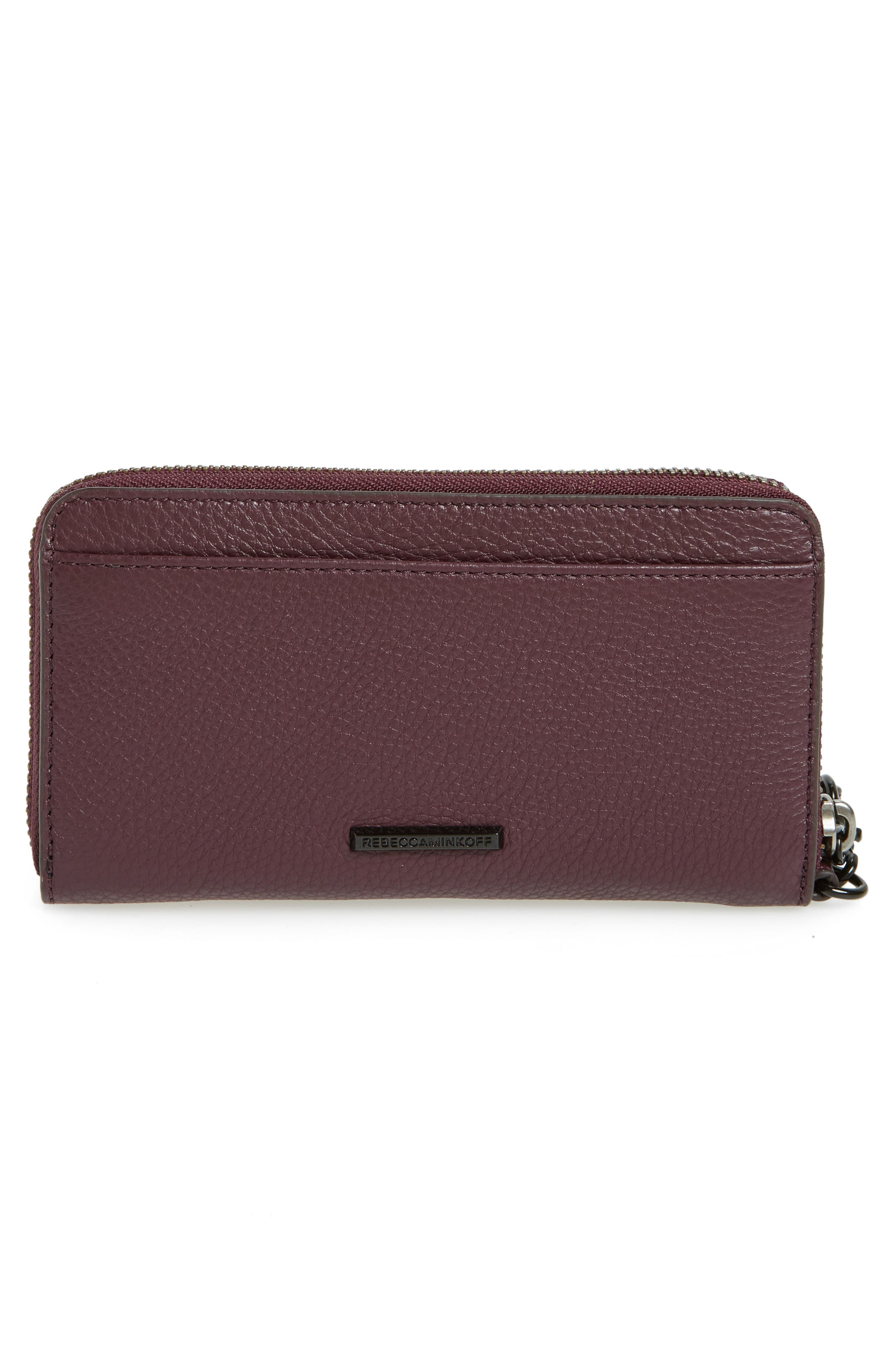 Vanity Leather Smartphone Wristlet,                             Alternate thumbnail 3, color,                             610