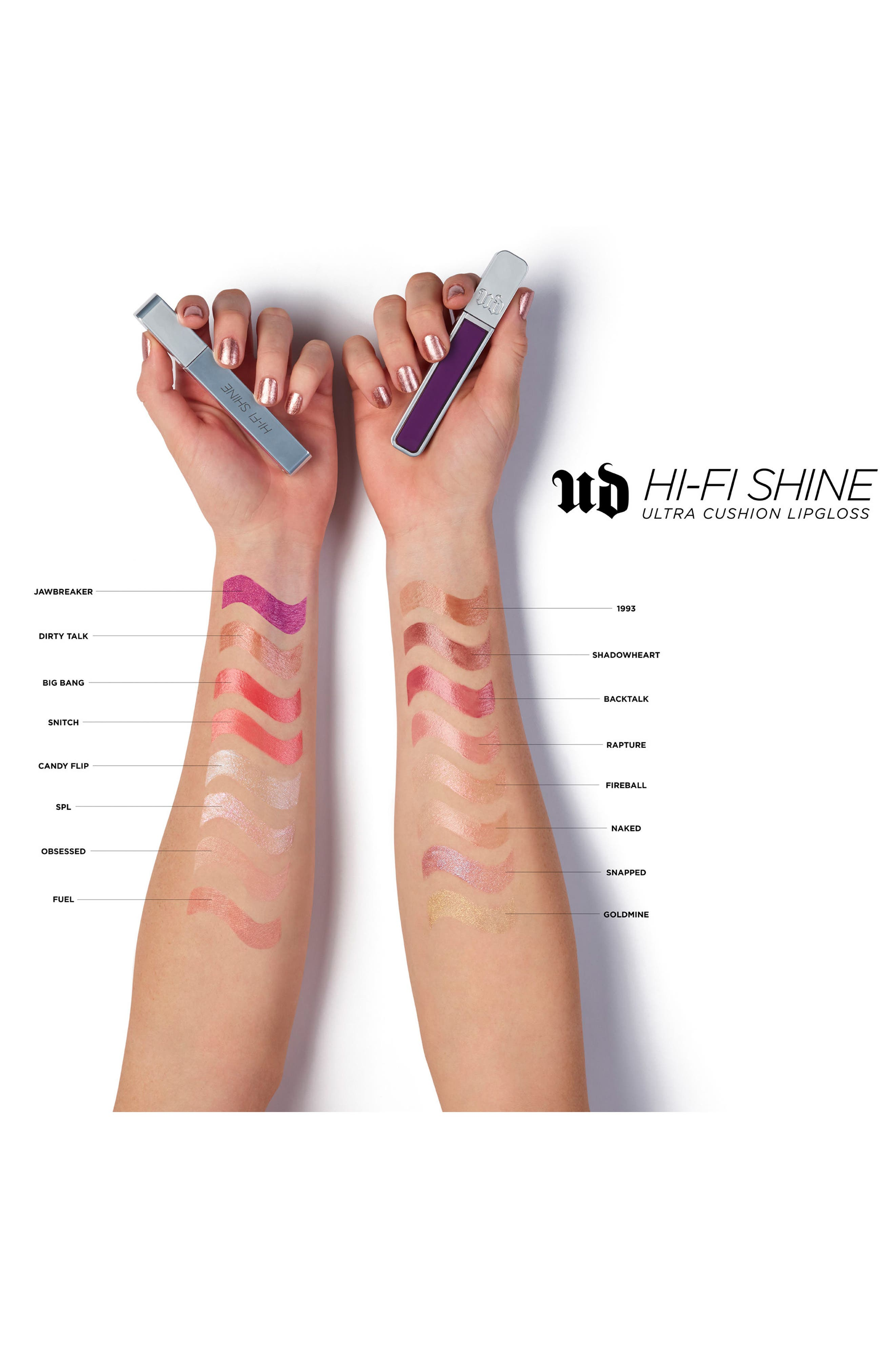 Hi-Fi Shine Ultra Cushion Lipgloss,                             Alternate thumbnail 5, color,                             SNAPPED