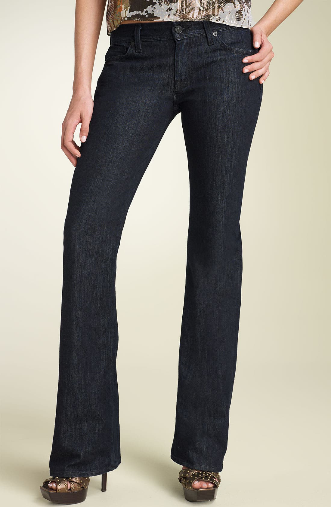 'Flynt' Bootcut Stretch Jeans,                             Alternate thumbnail 2, color,                             450