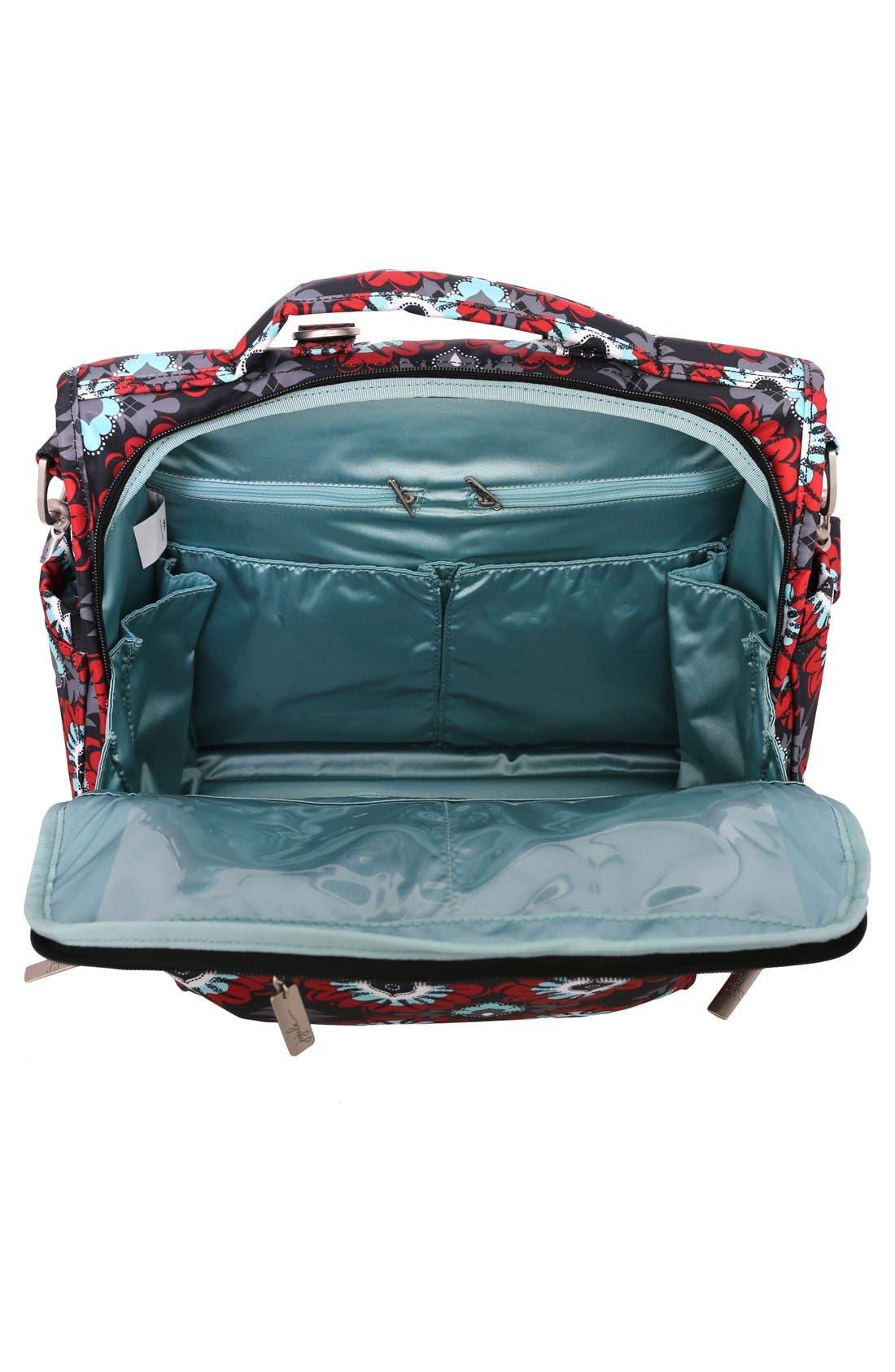 'BFF' Diaper Bag,                             Alternate thumbnail 3, color,                             SWEET SCARLET