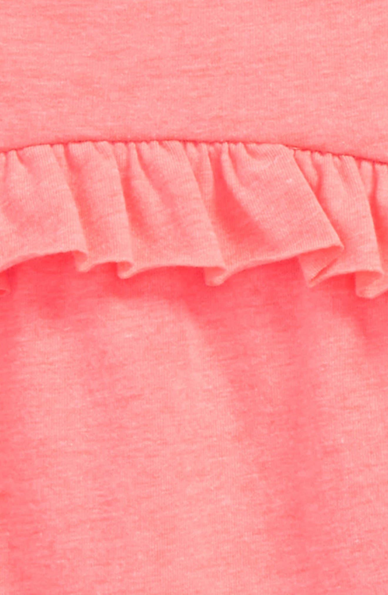 Ruffle Swing Top & Leggings Set,                             Alternate thumbnail 2, color,                             670