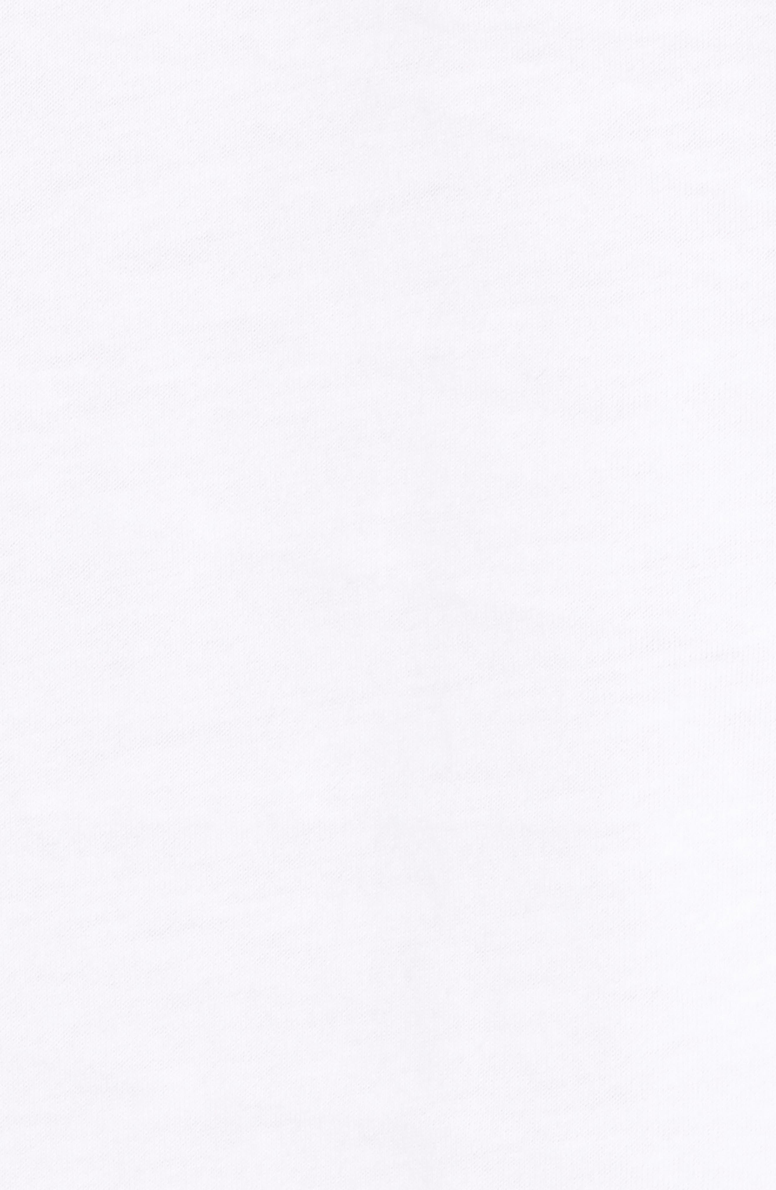 Modern Photo Hooded T-Shirt,                             Alternate thumbnail 5, color,                             WHITE/ BLACK