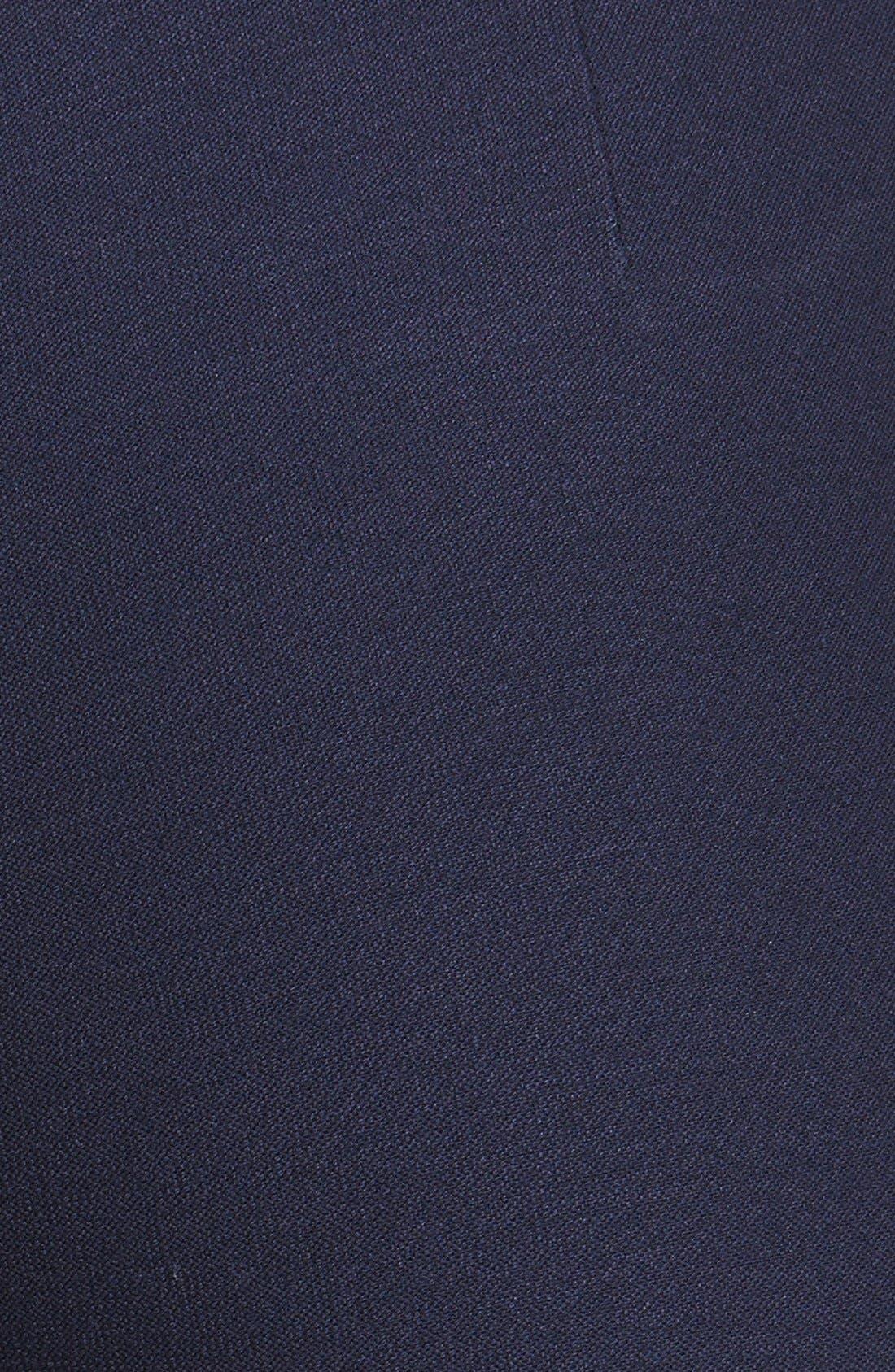 Stretch Crepe Ankle Pants,                             Alternate thumbnail 30, color,