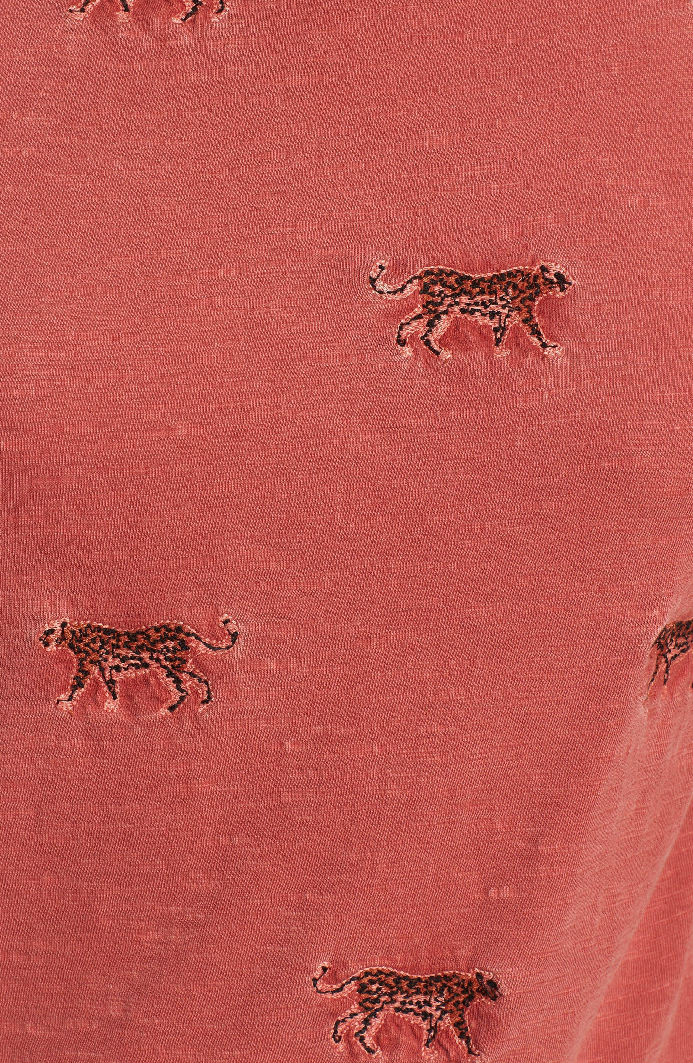 Cheetah Tee,                             Alternate thumbnail 5, color,                             640