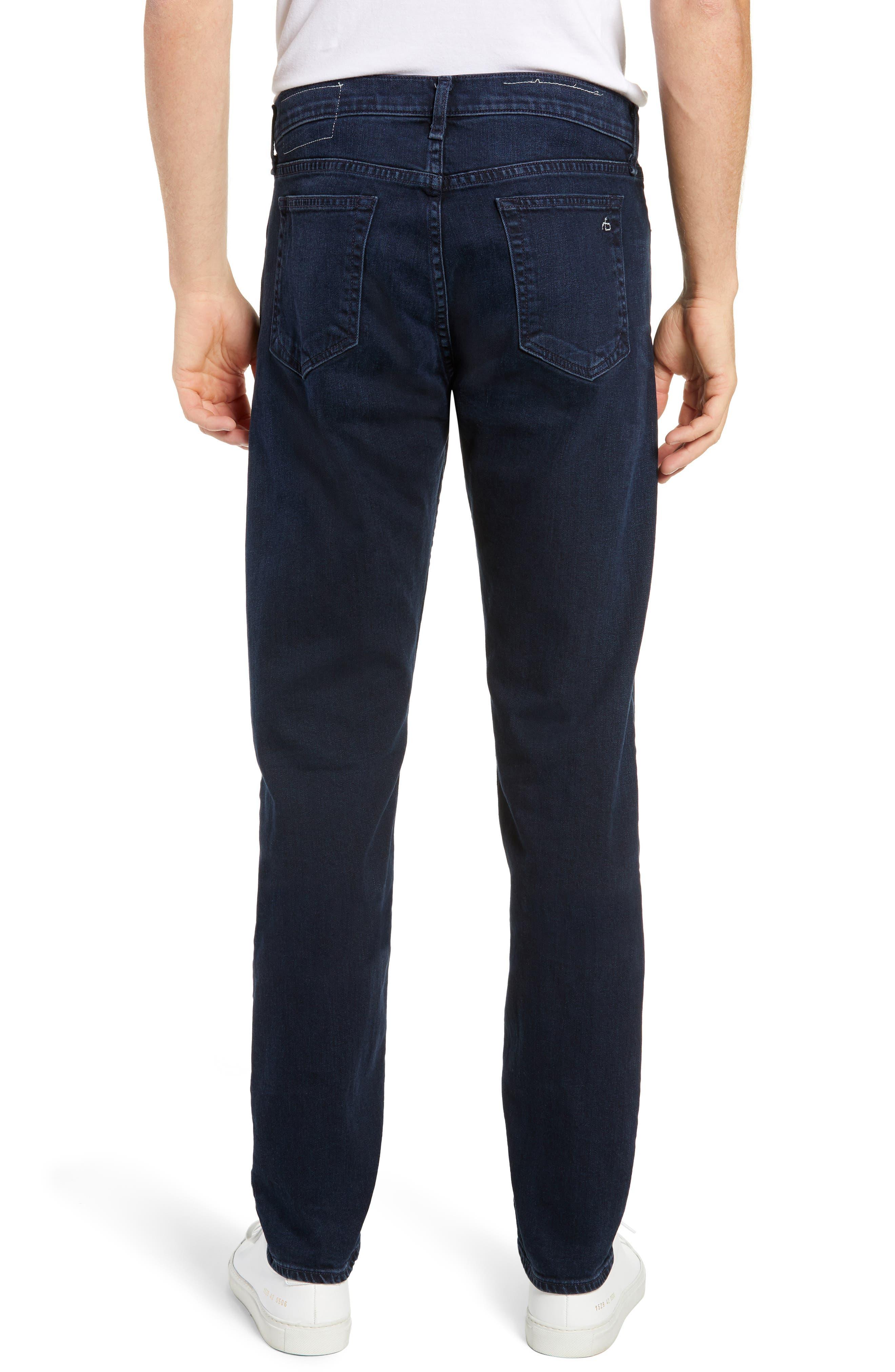 Fit 3 Slim Straight Leg Jeans,                             Alternate thumbnail 2, color,                             BAYVIEW