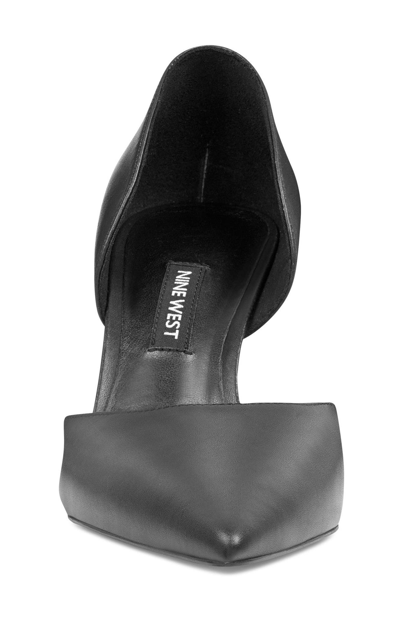 NINE WEST,                             Mossiel Open Sided Pump,                             Alternate thumbnail 4, color,                             003