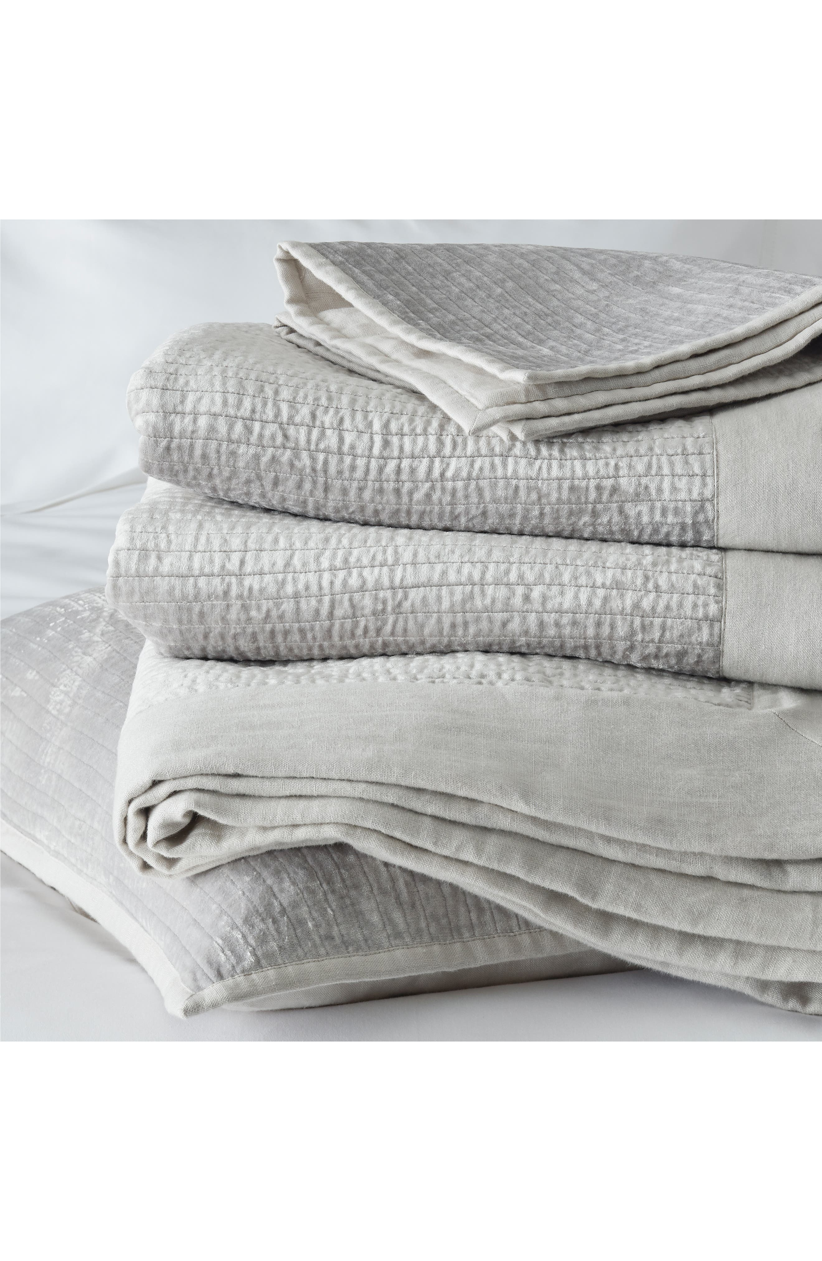 THE WHITE COMPANY,                             Vienne Quilt,                             Alternate thumbnail 2, color,                             SILVER