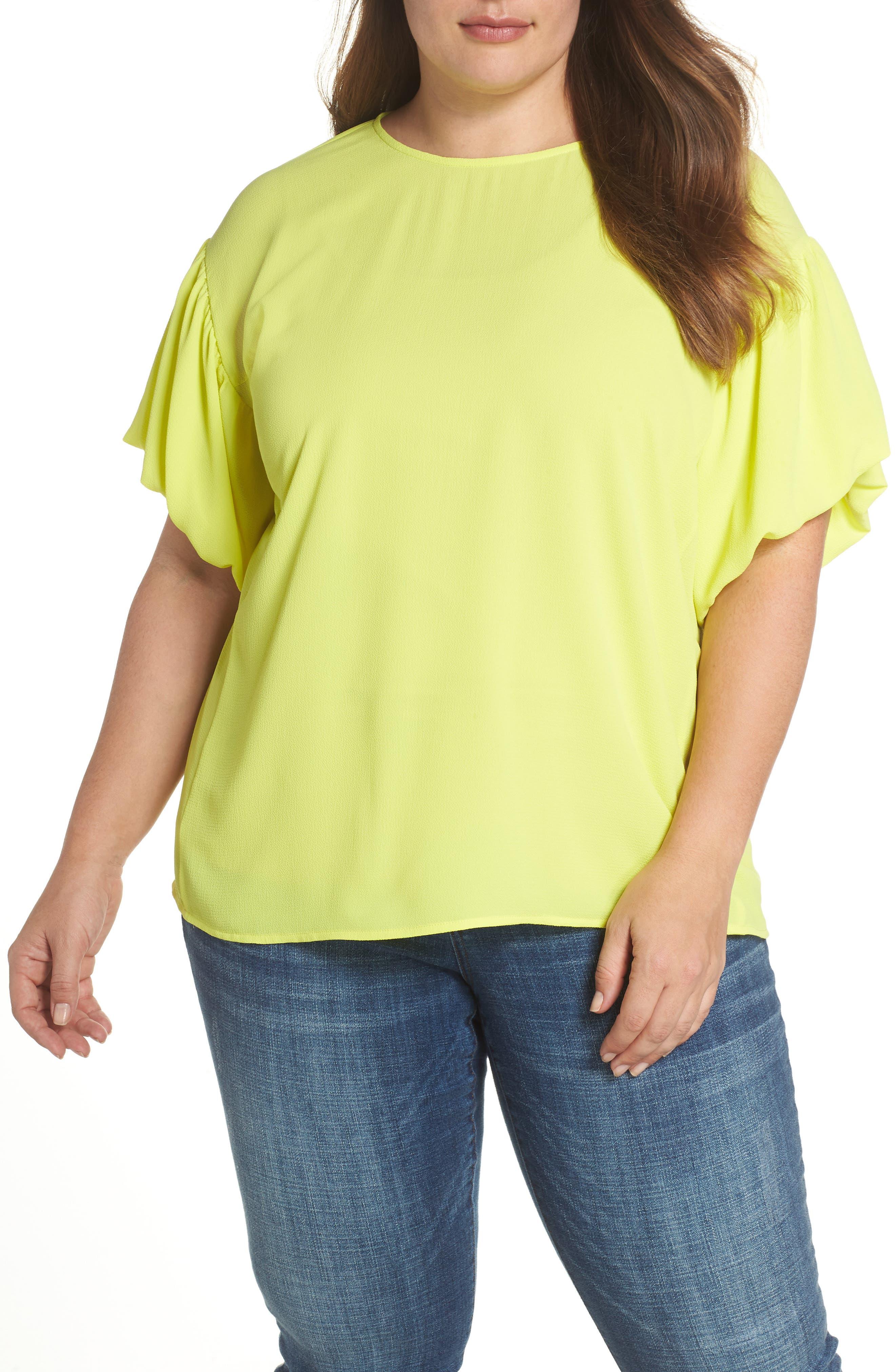 Bubble Sleeve Blouse,                         Main,                         color, 324