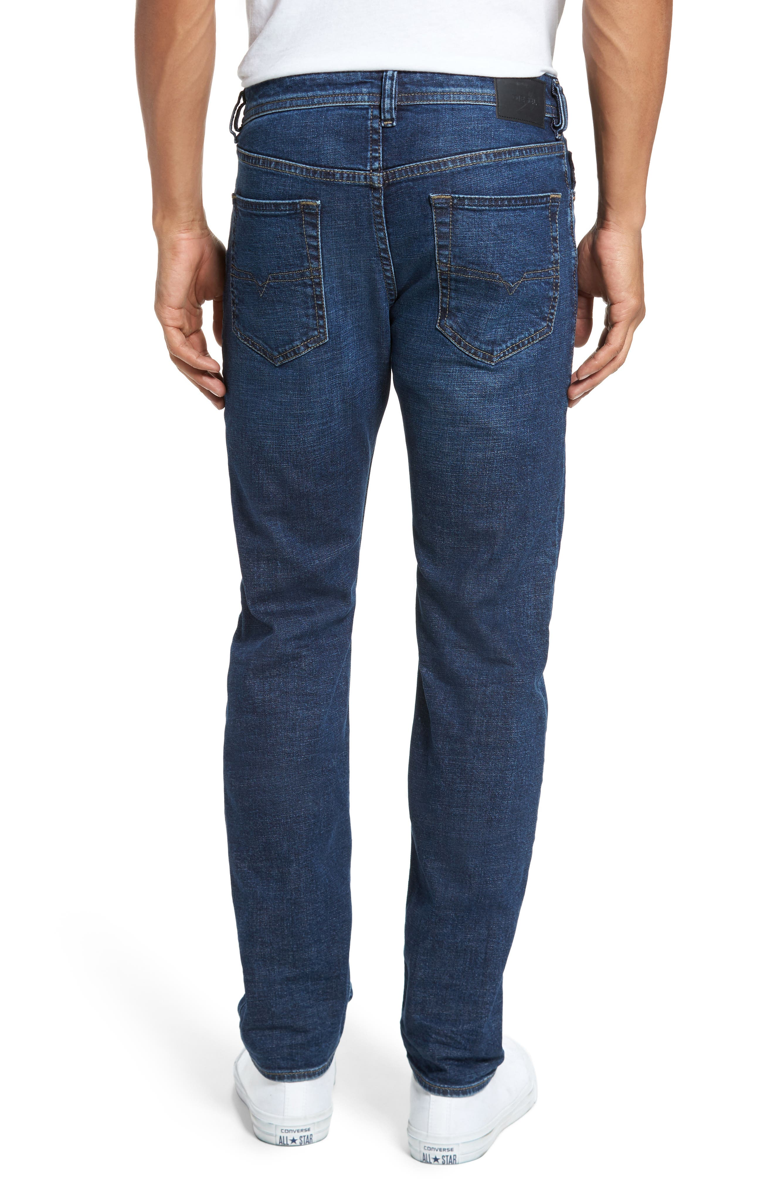 Buster Slim Straight Fit Jeans,                             Alternate thumbnail 2, color,