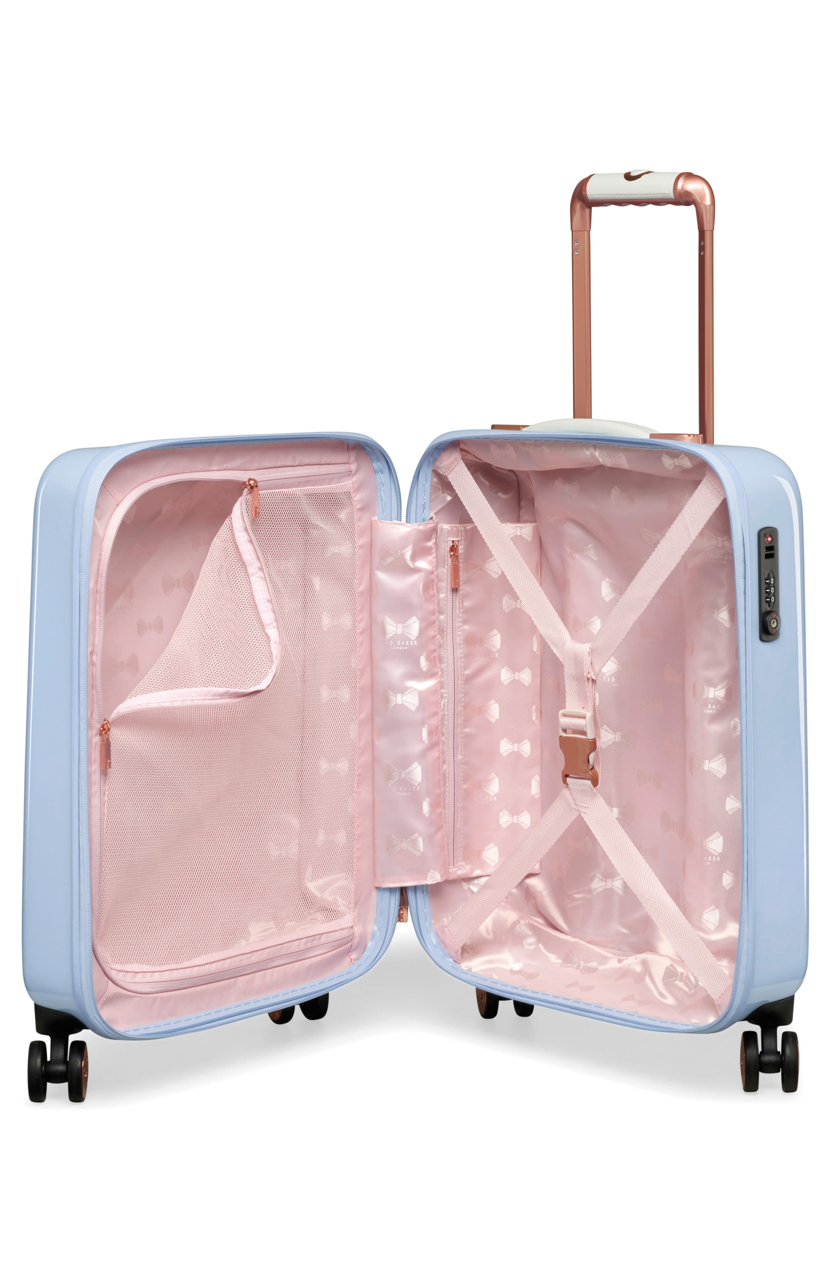Small Harmony 21-Inch Spinner Carry-On,                             Alternate thumbnail 2, color,                             BLUE