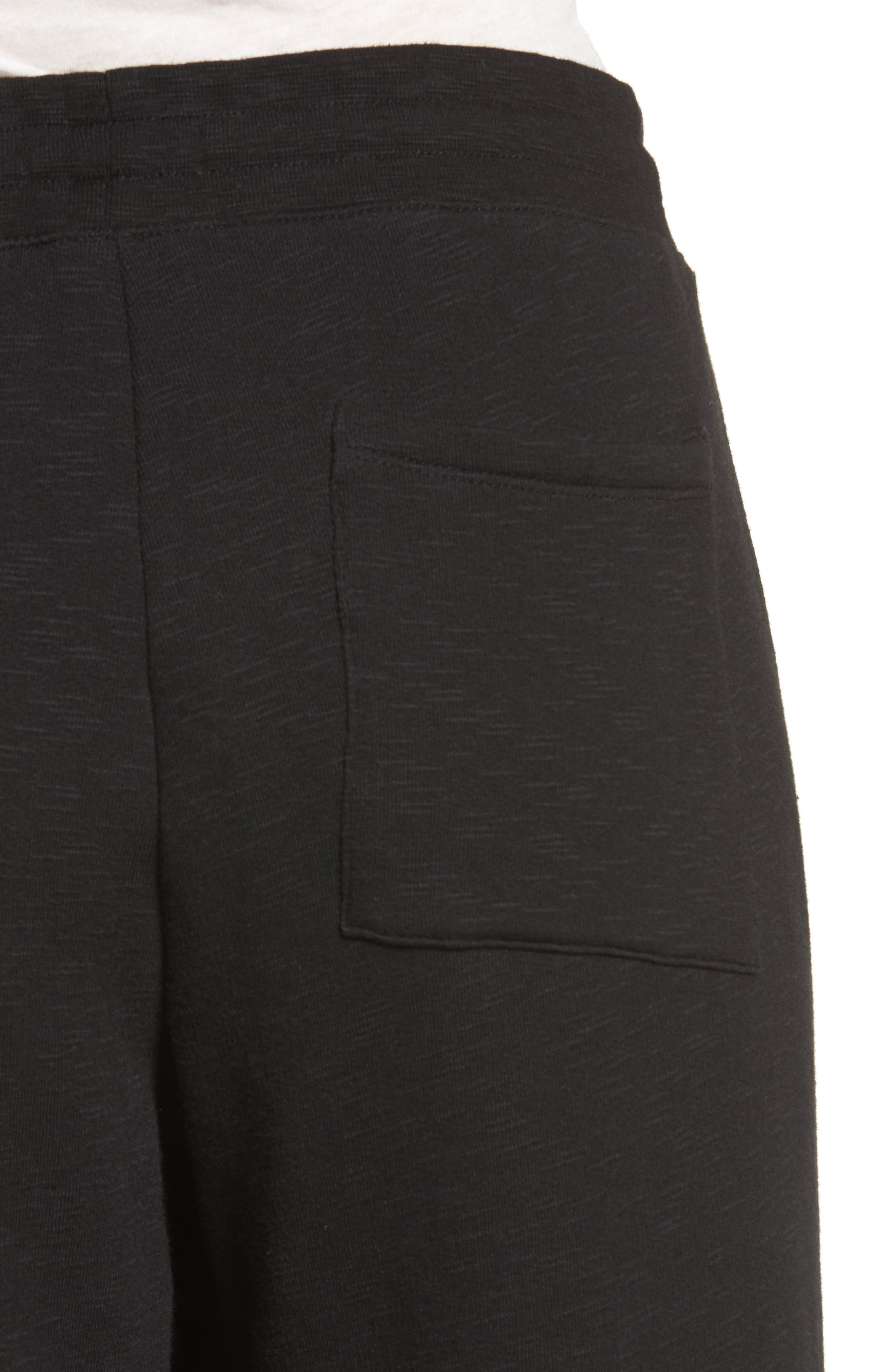 Step Hem Sweatpants,                             Alternate thumbnail 4, color,                             010