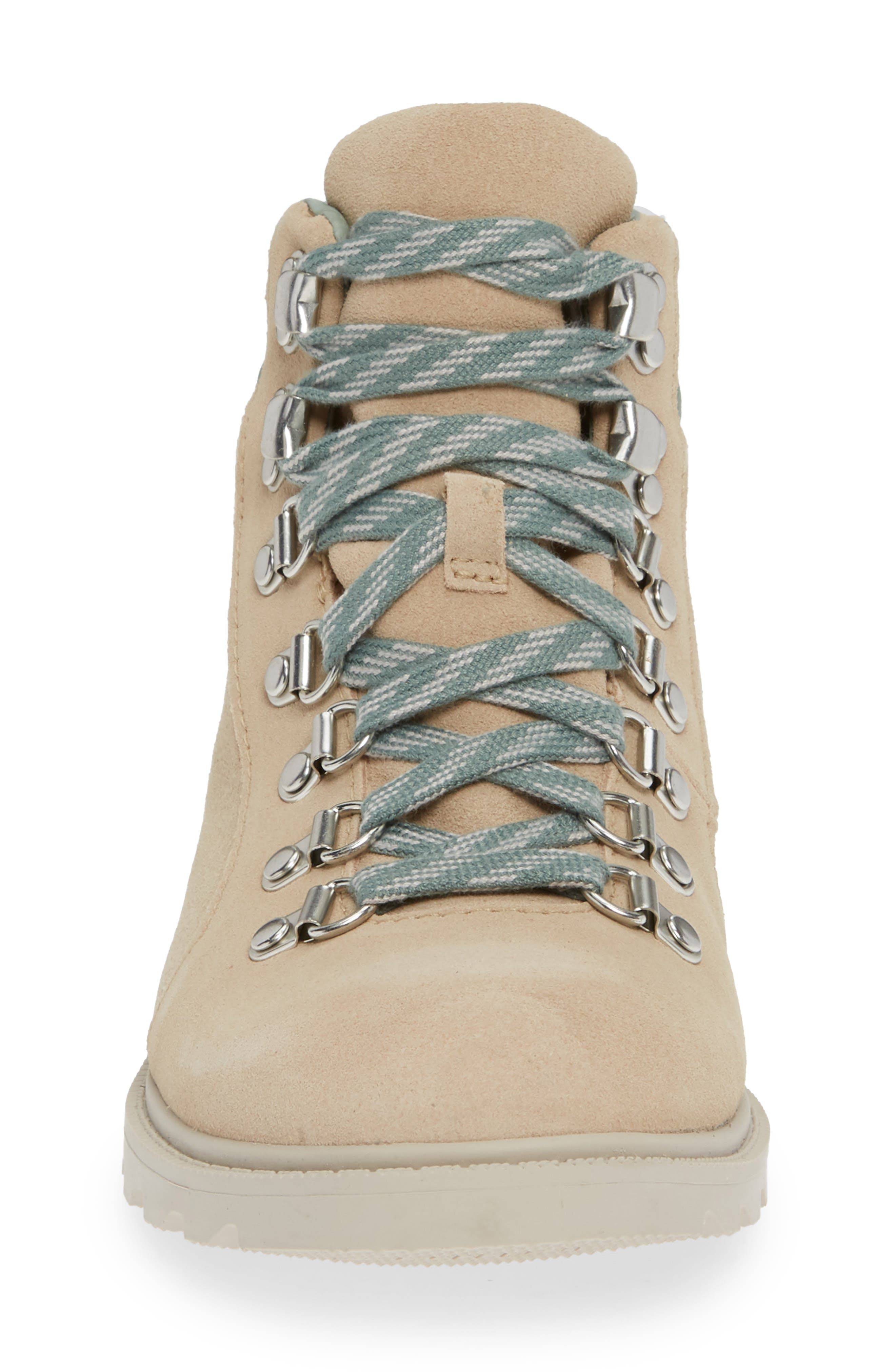 Ainsley Conquest Waterproof Boot,                             Alternate thumbnail 4, color,                             OATMEAL