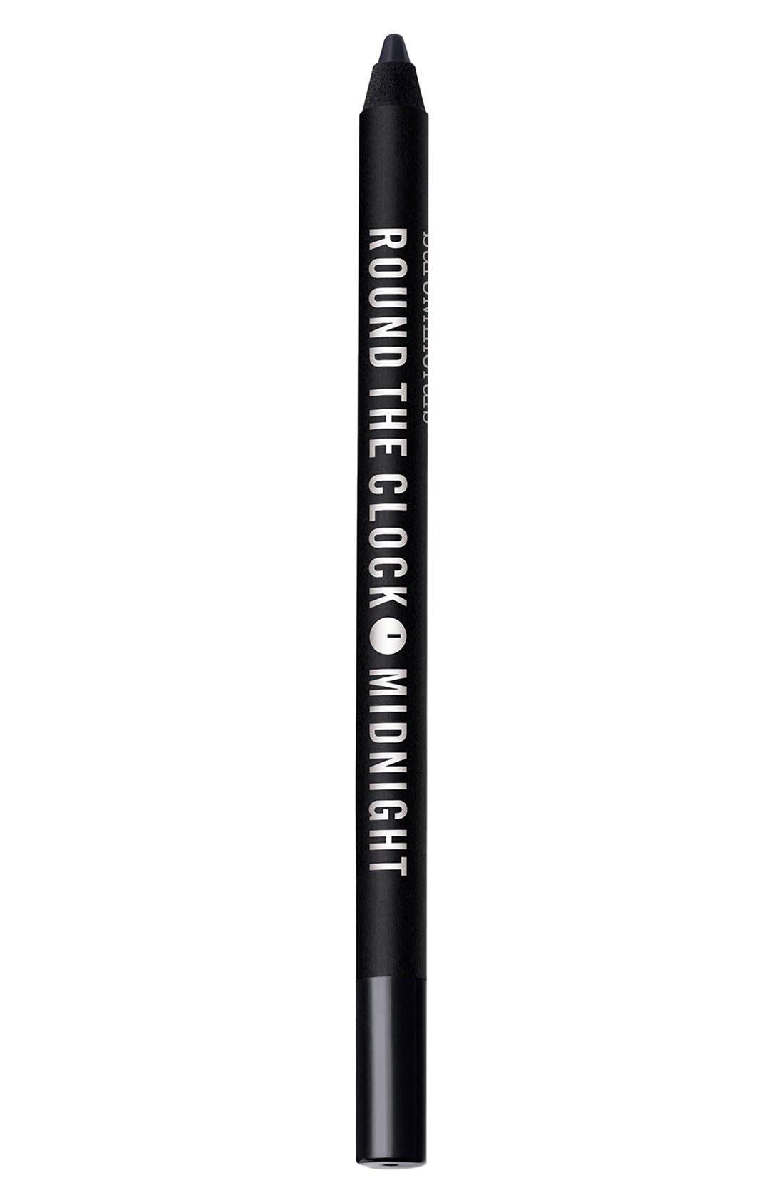 Round the Clock Intense Cream-Glide Eyeliner,                         Main,                         color, MIDNIGHT