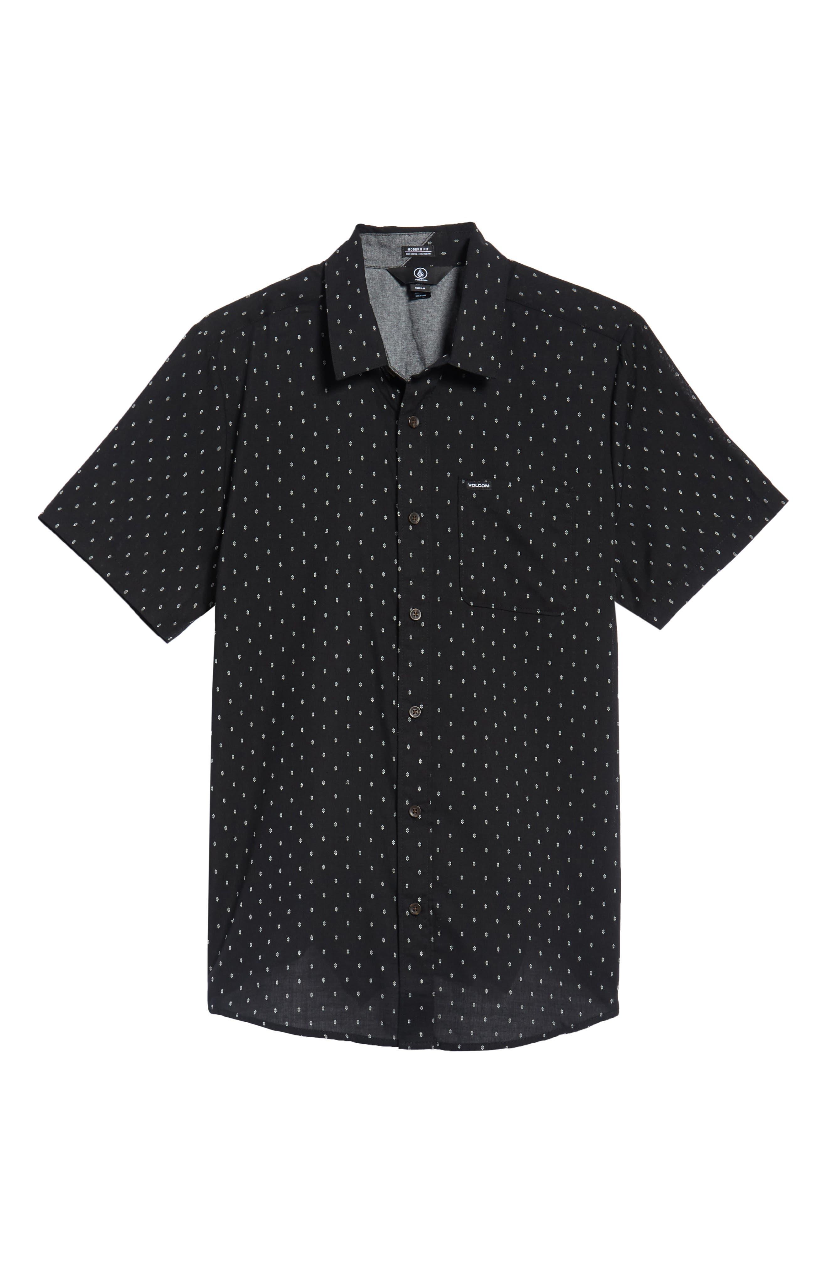 Dobler Woven Shirt,                             Alternate thumbnail 6, color,                             001