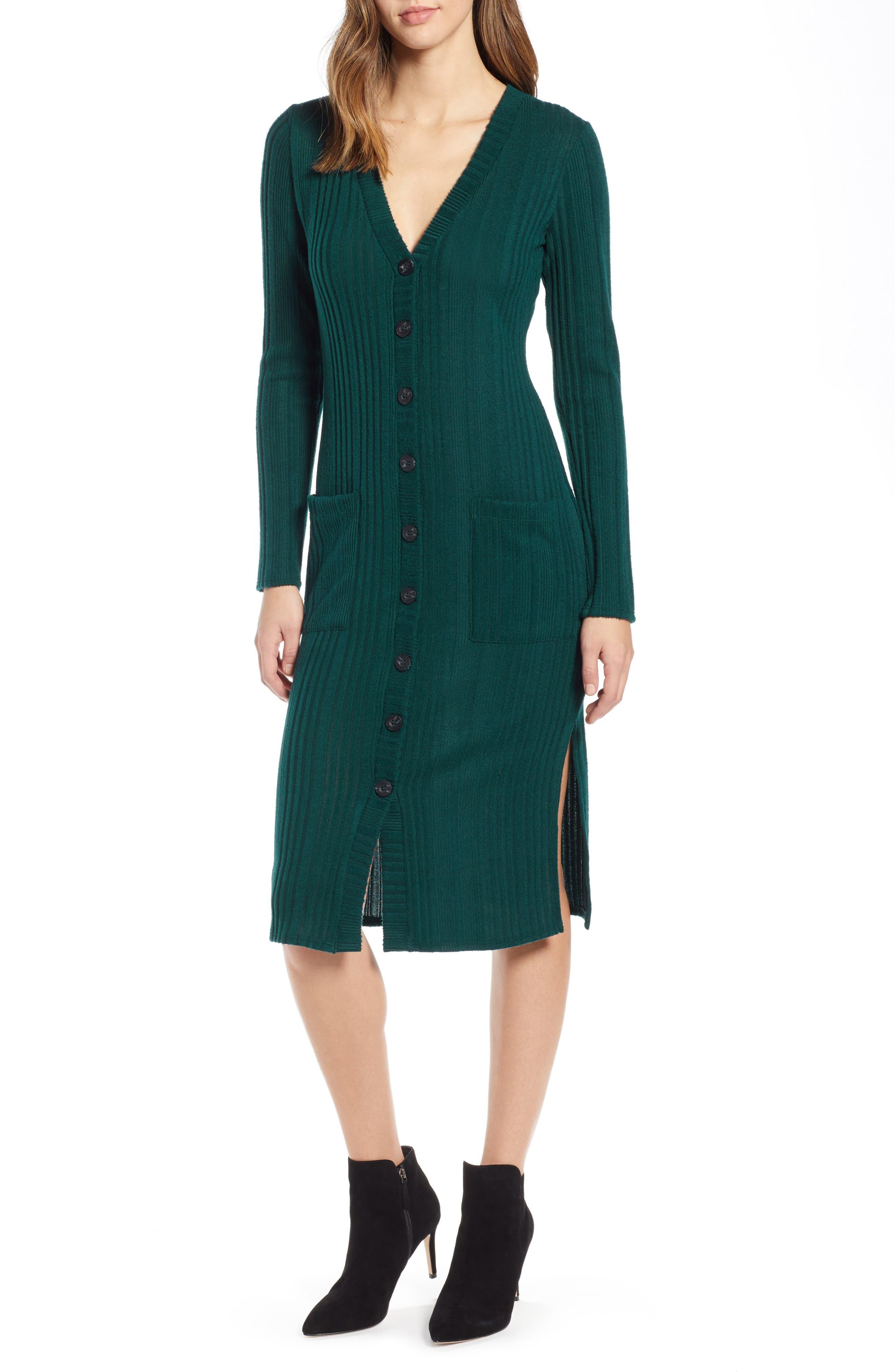 SOCIALITE Sweater Dress, Main, color, 300