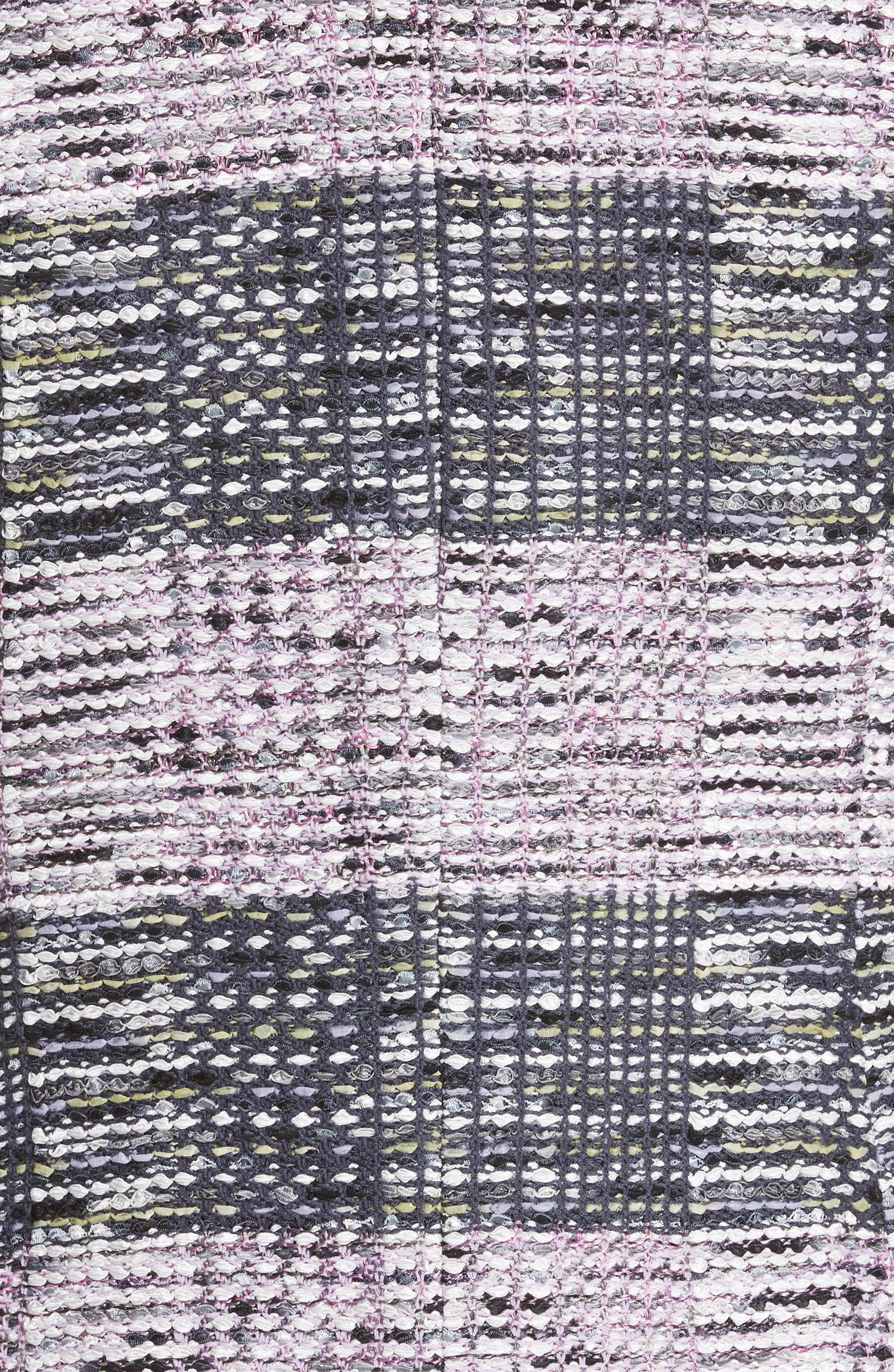 Anna Plaid Double Breasted Blazer,                             Alternate thumbnail 6, color,                             020