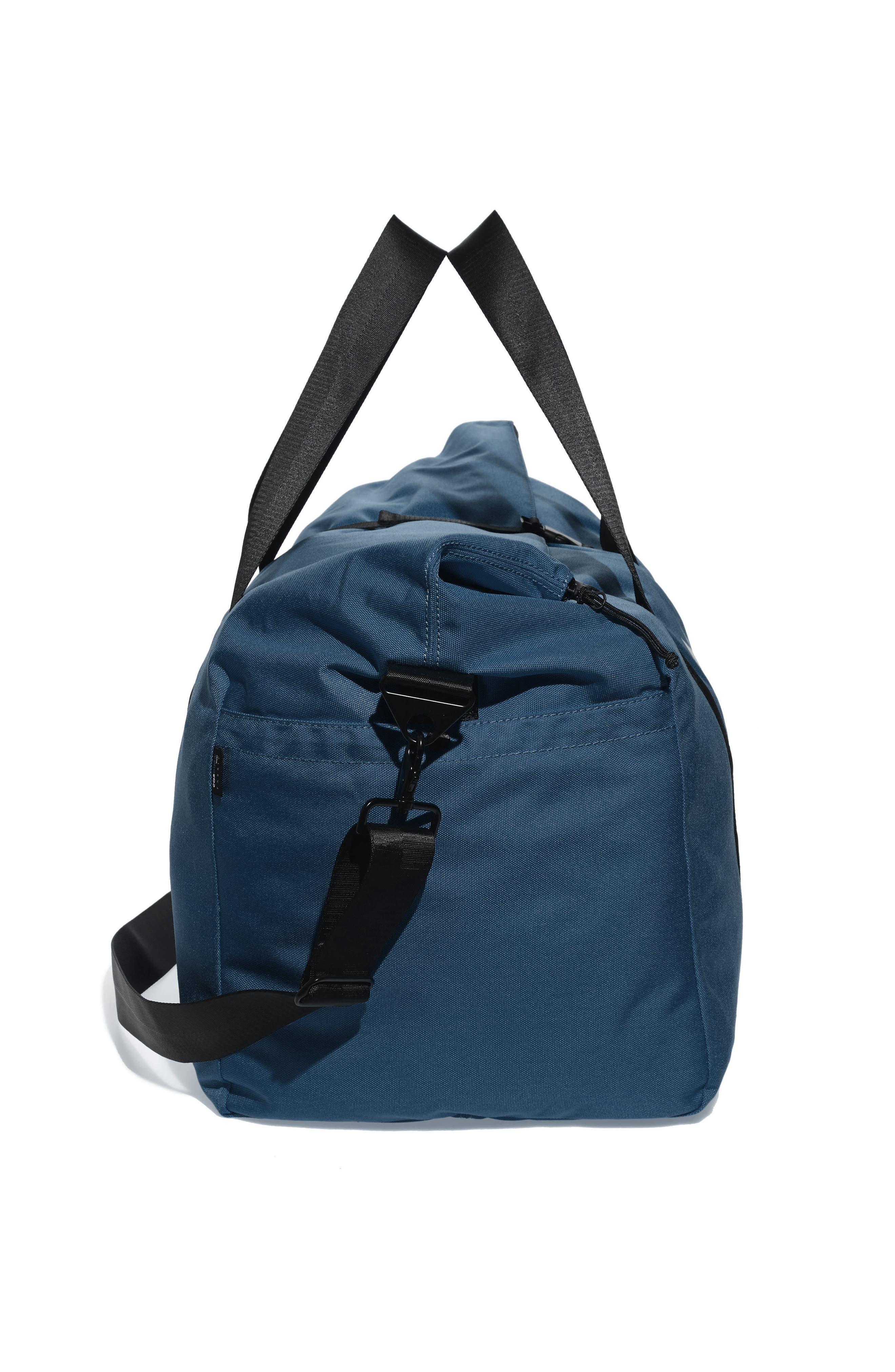 SWS 100L Roll Top Duffel Bag,                             Alternate thumbnail 4, color,                             NAVY