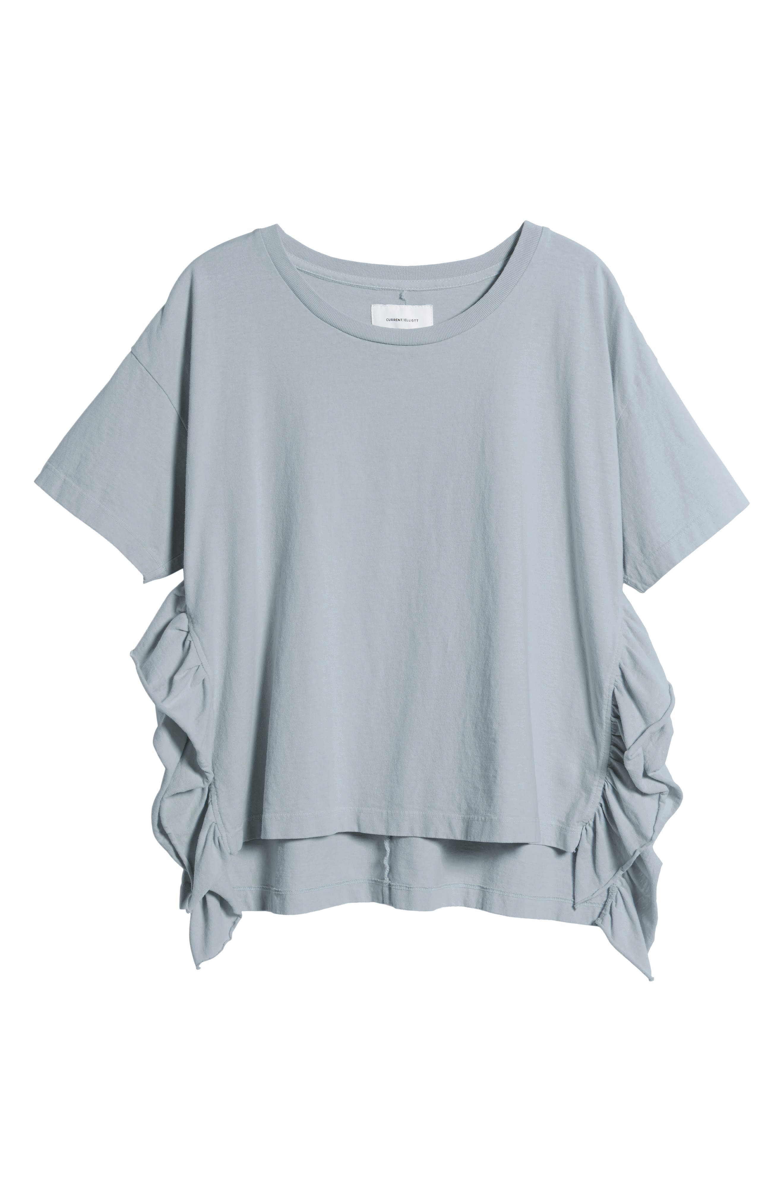 The Side Slit Ruffle Tee,                             Alternate thumbnail 6, color,                             459