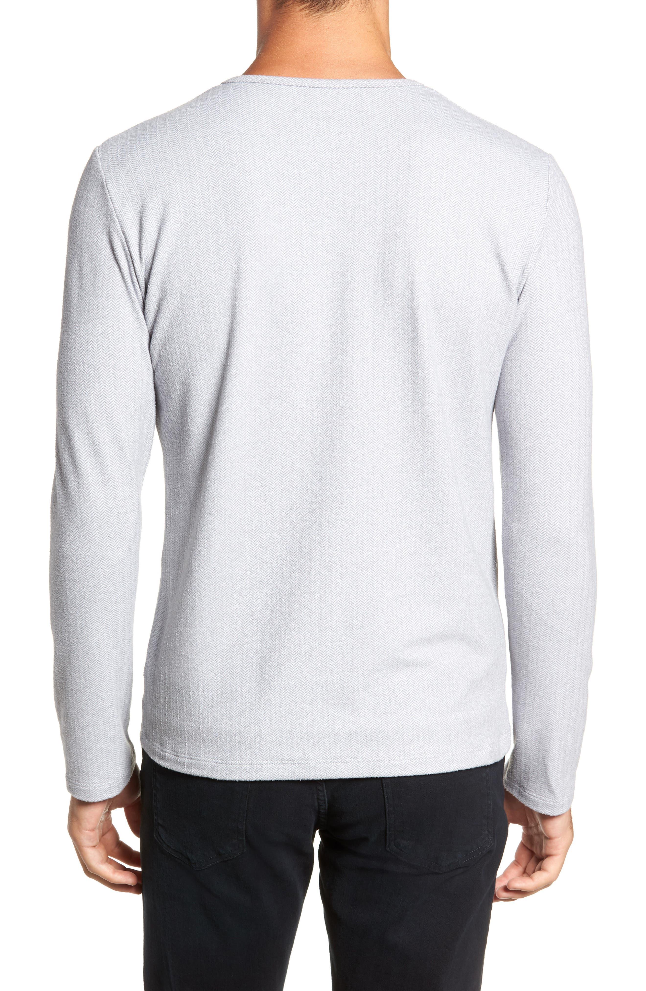 MIZZEN+MAIN,                             Anchorage Regular Fit Henley T-Shirt,                             Alternate thumbnail 2, color,                             031