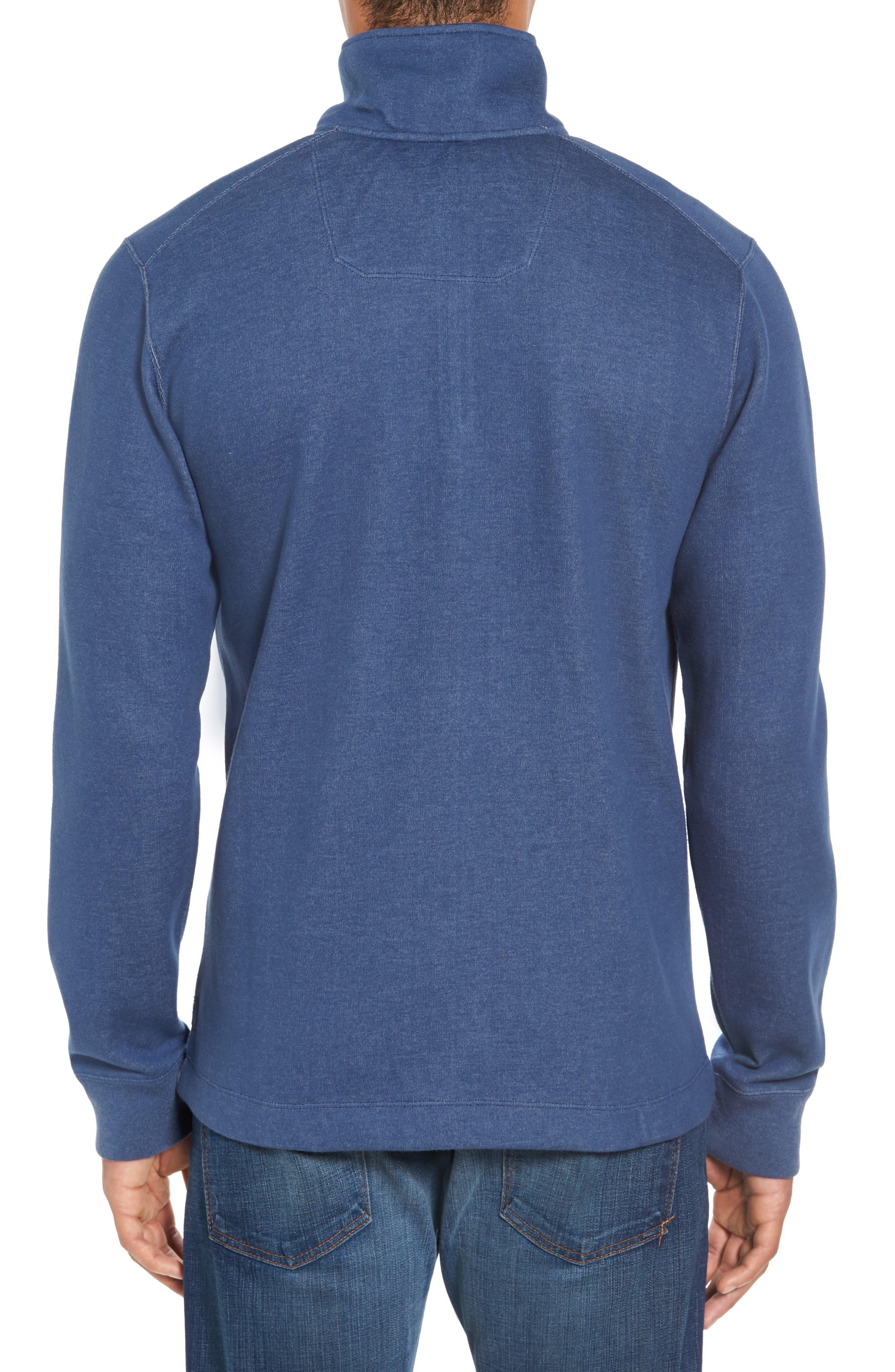 Upper Deck Half Zip Pullover,                             Alternate thumbnail 2, color,                             410