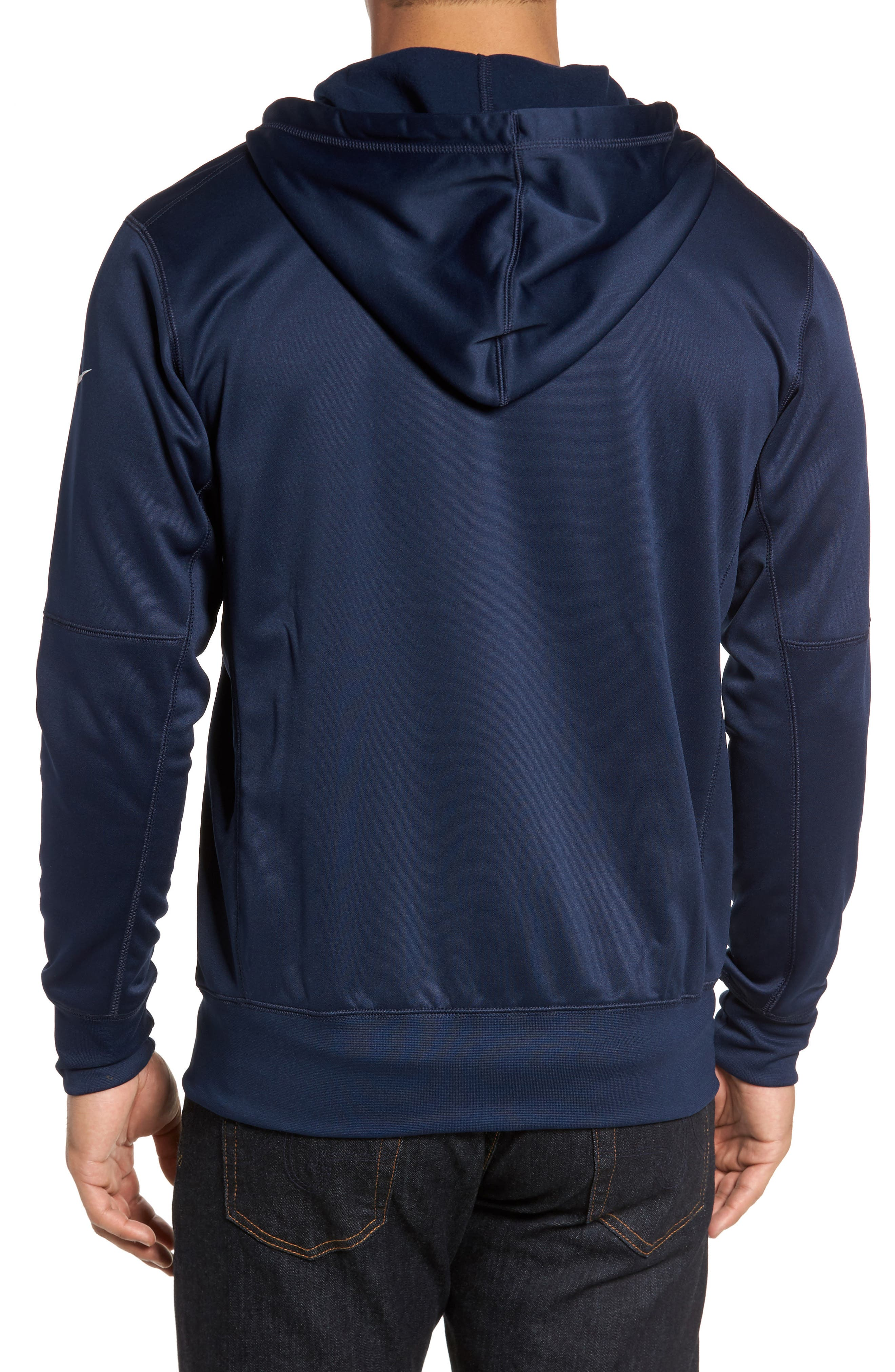 Therma-FIT NFL Graphic Zip Hoodie,                             Alternate thumbnail 11, color,