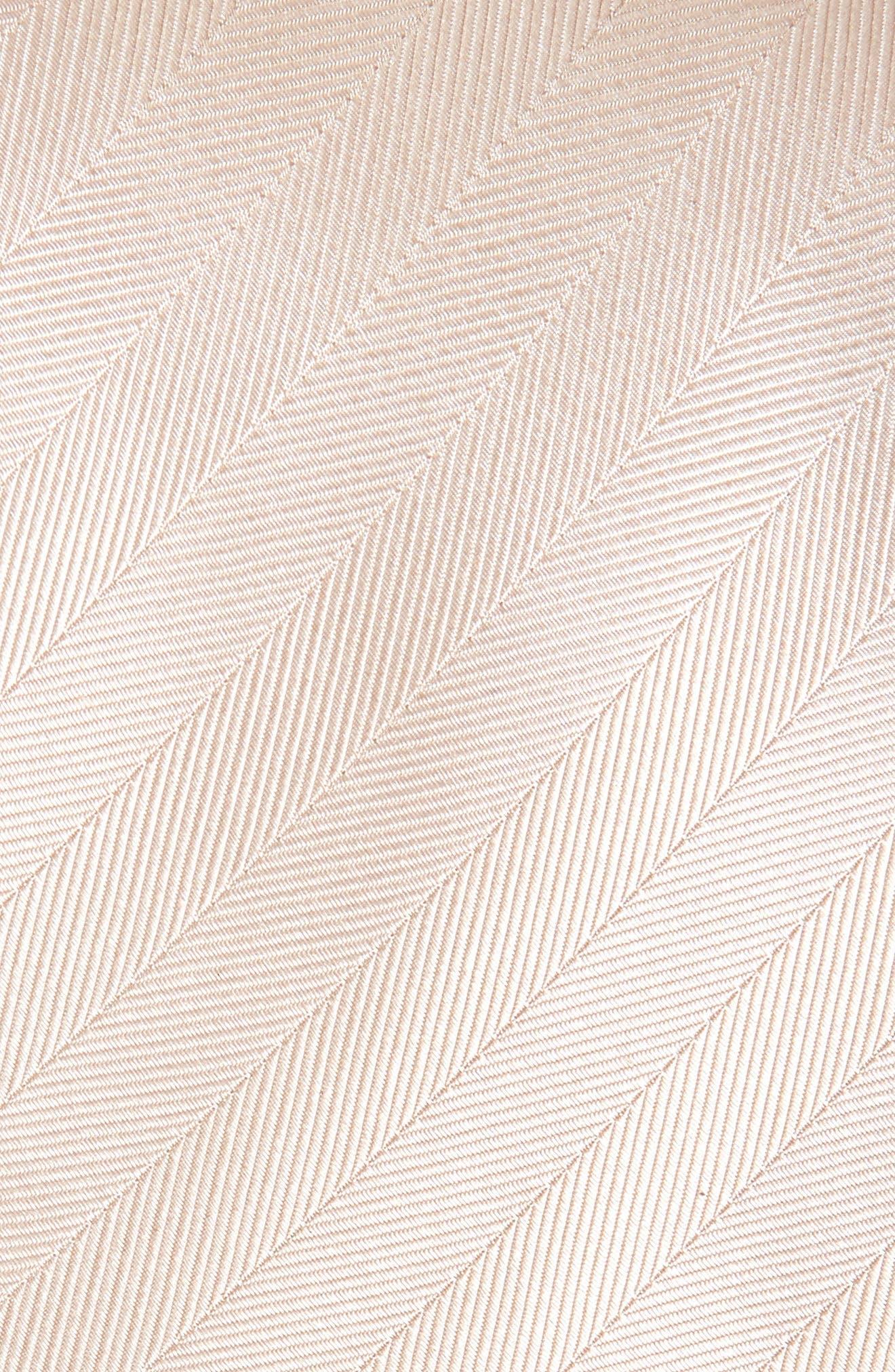 Herringbone Silk Tie,                             Alternate thumbnail 14, color,