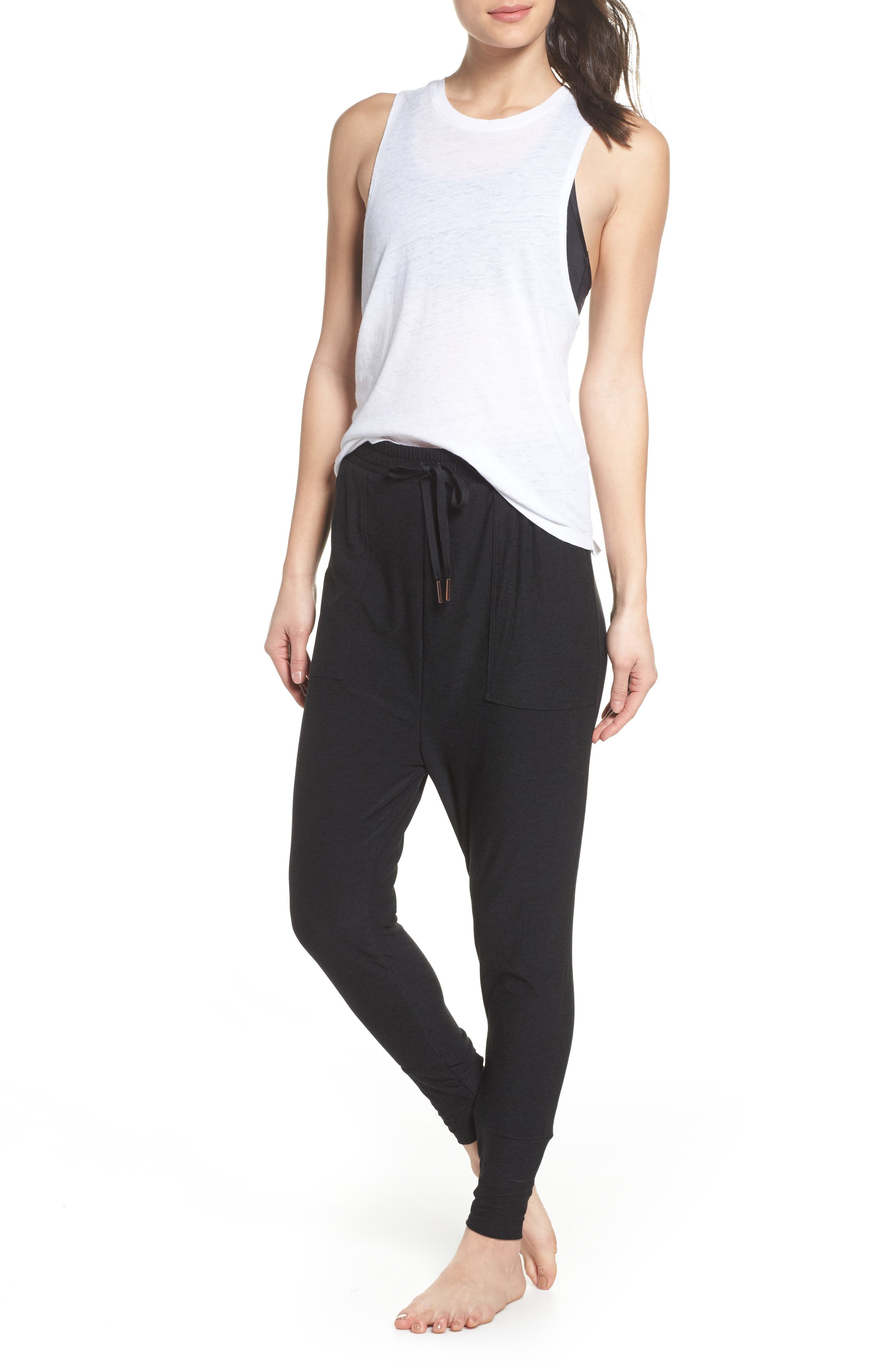 Weekend Traveler Midi Sweatpants,                             Alternate thumbnail 15, color,