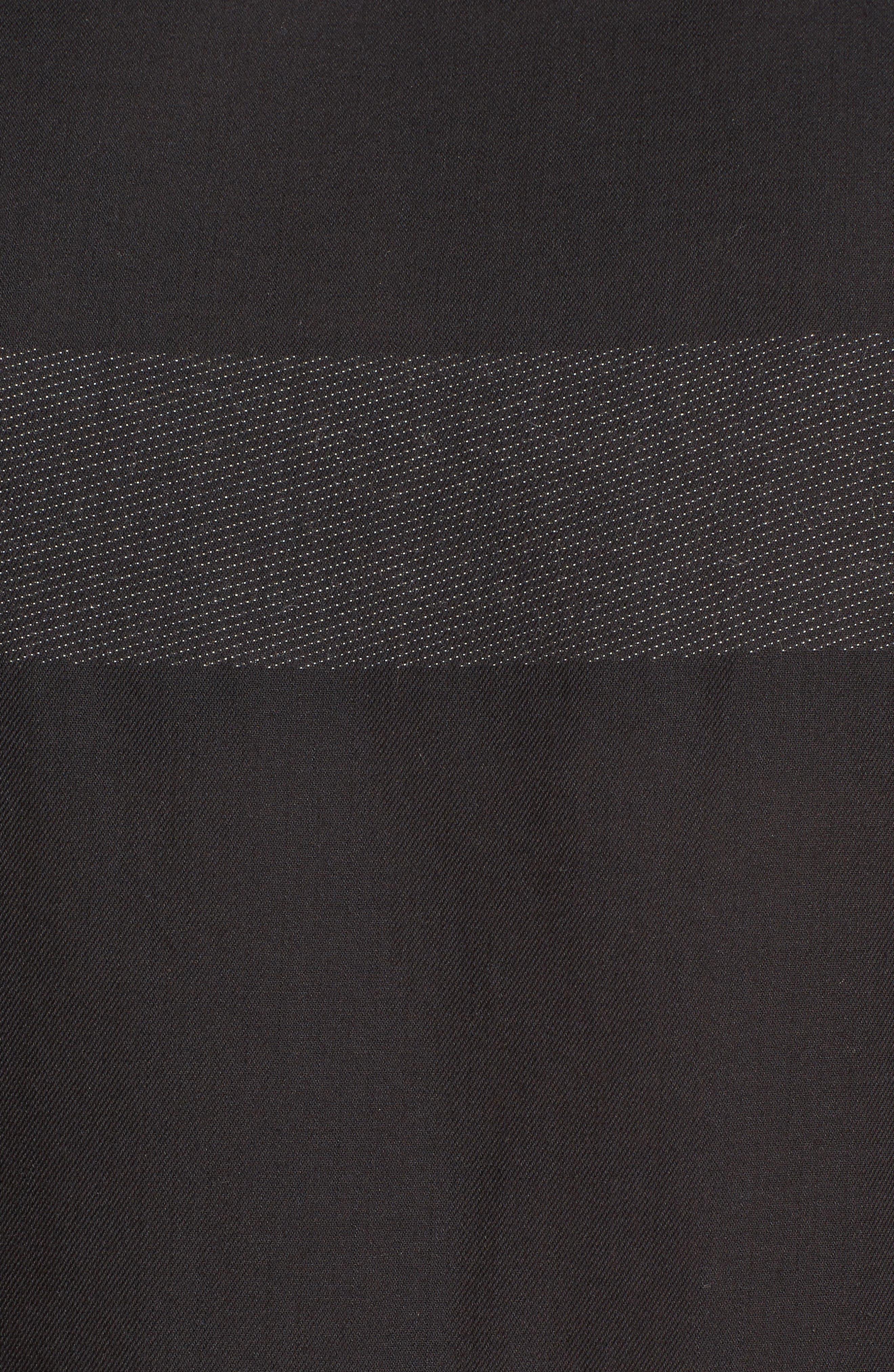 Cotton Jacquard Shirt Dress,                             Alternate thumbnail 6, color,