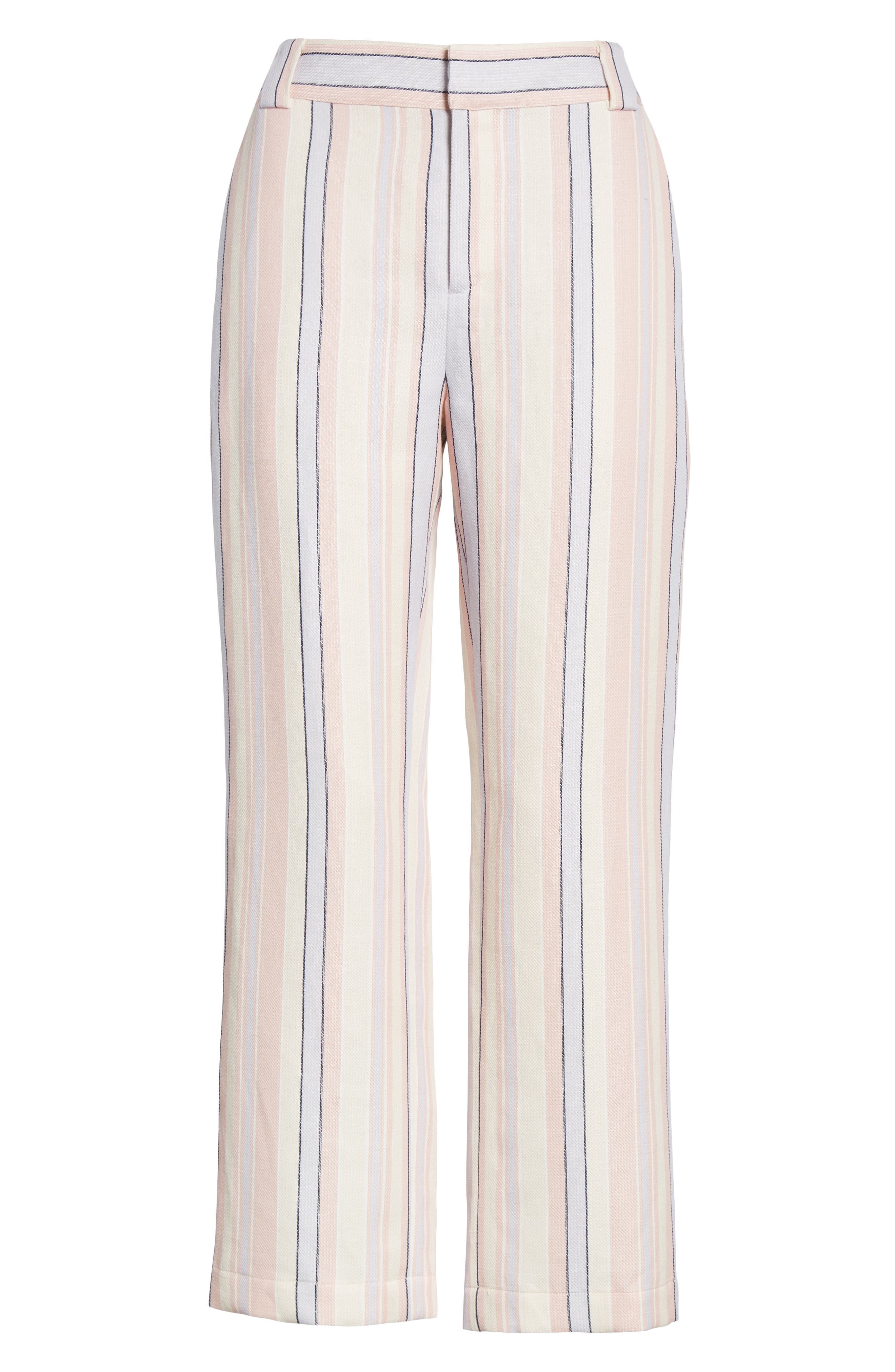 Ginger Stripe Pants,                             Alternate thumbnail 7, color,                             MULTI