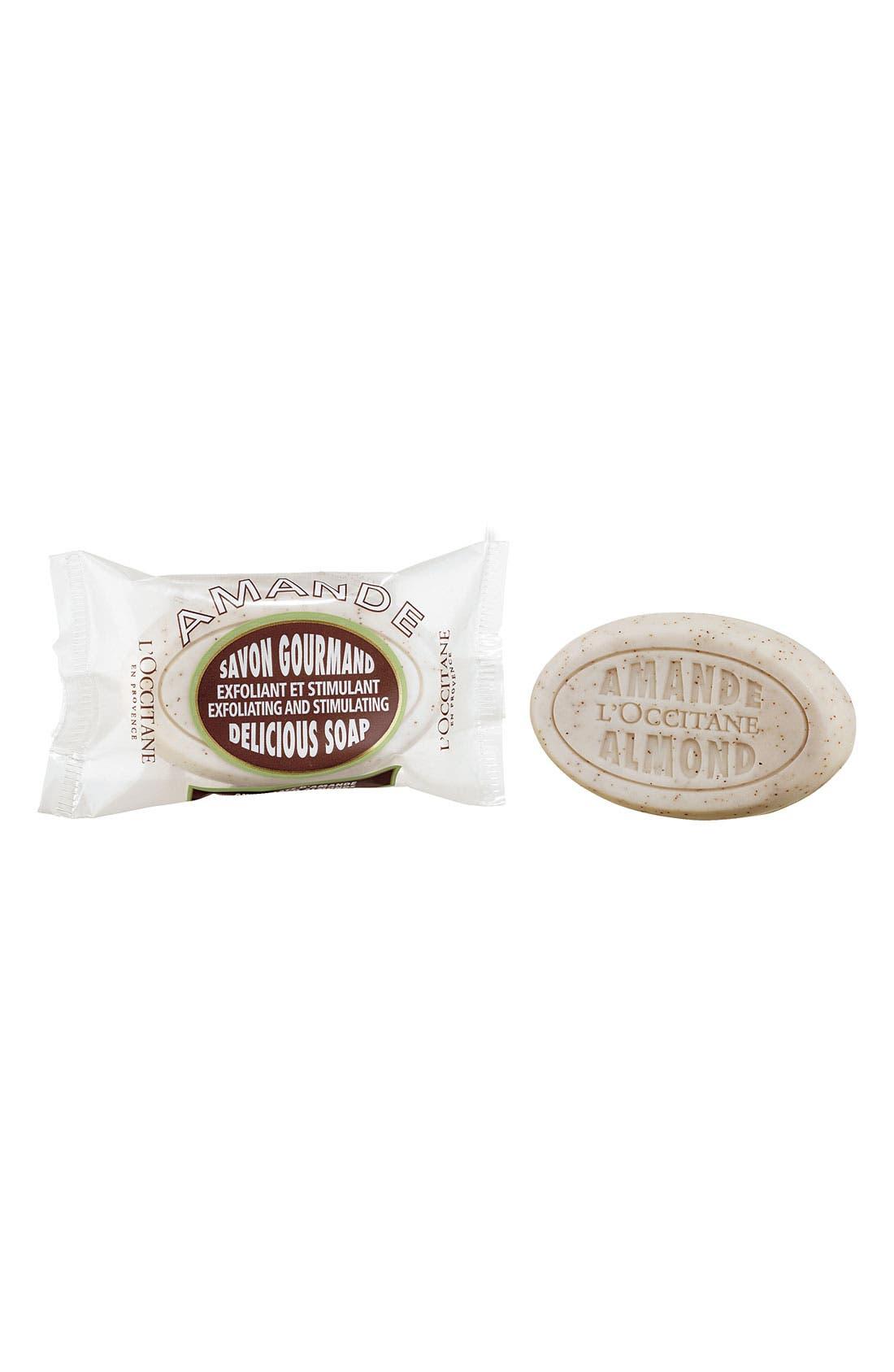'Almond Delicious' Soap,                             Main thumbnail 1, color,                             000