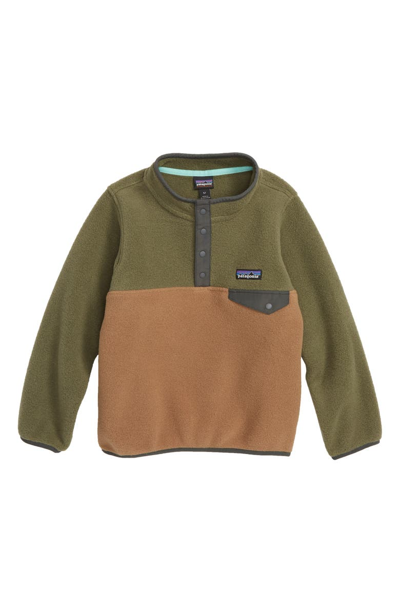 Patagonia Synchilla 174 Snap T 174 Fleece Pullover Little Boys