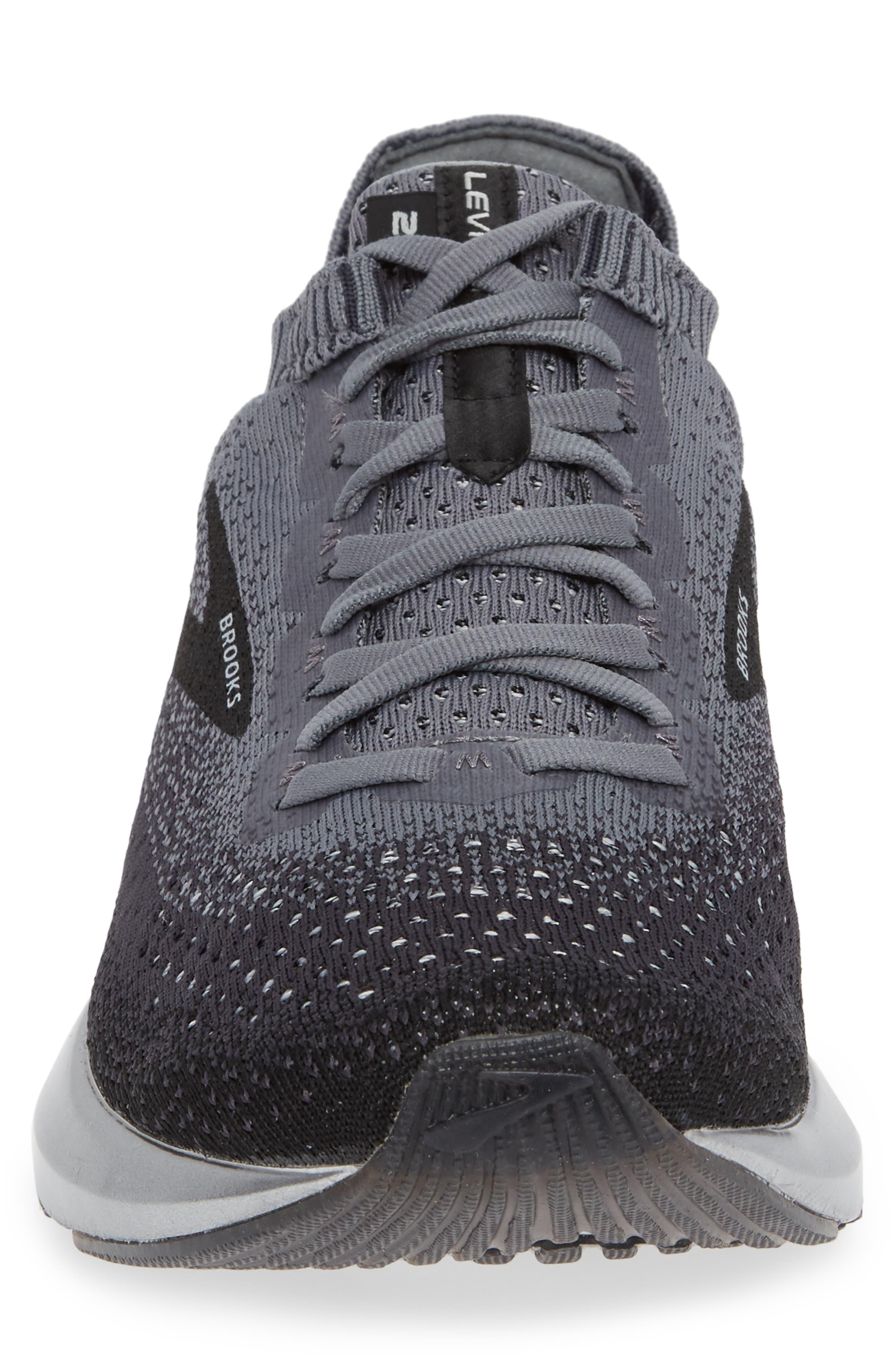 Levitate 2 Running Shoe,                             Alternate thumbnail 4, color,                             BLACK/ GREY/ EBONY
