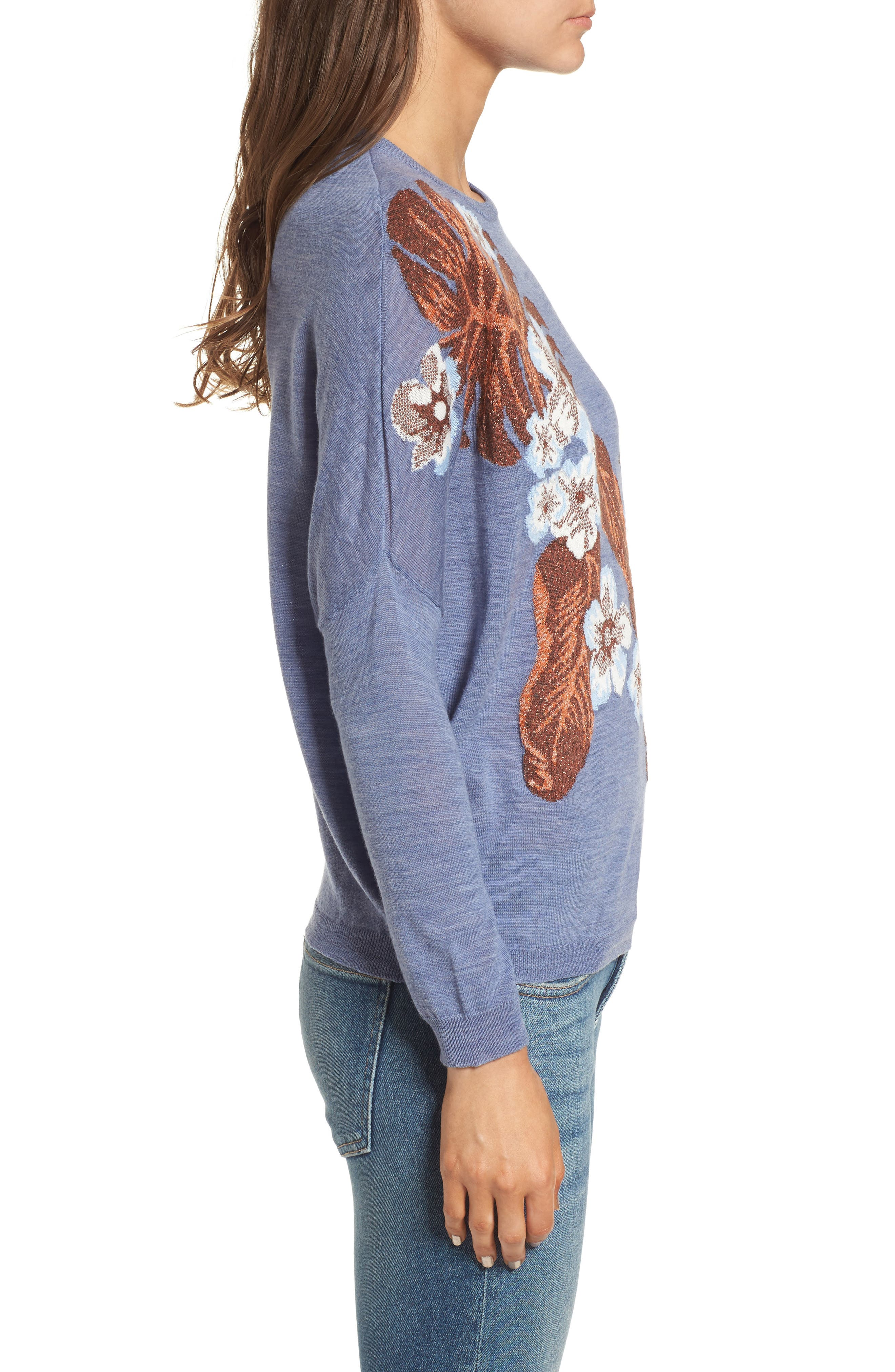 Blupalm Sweater,                             Alternate thumbnail 3, color,